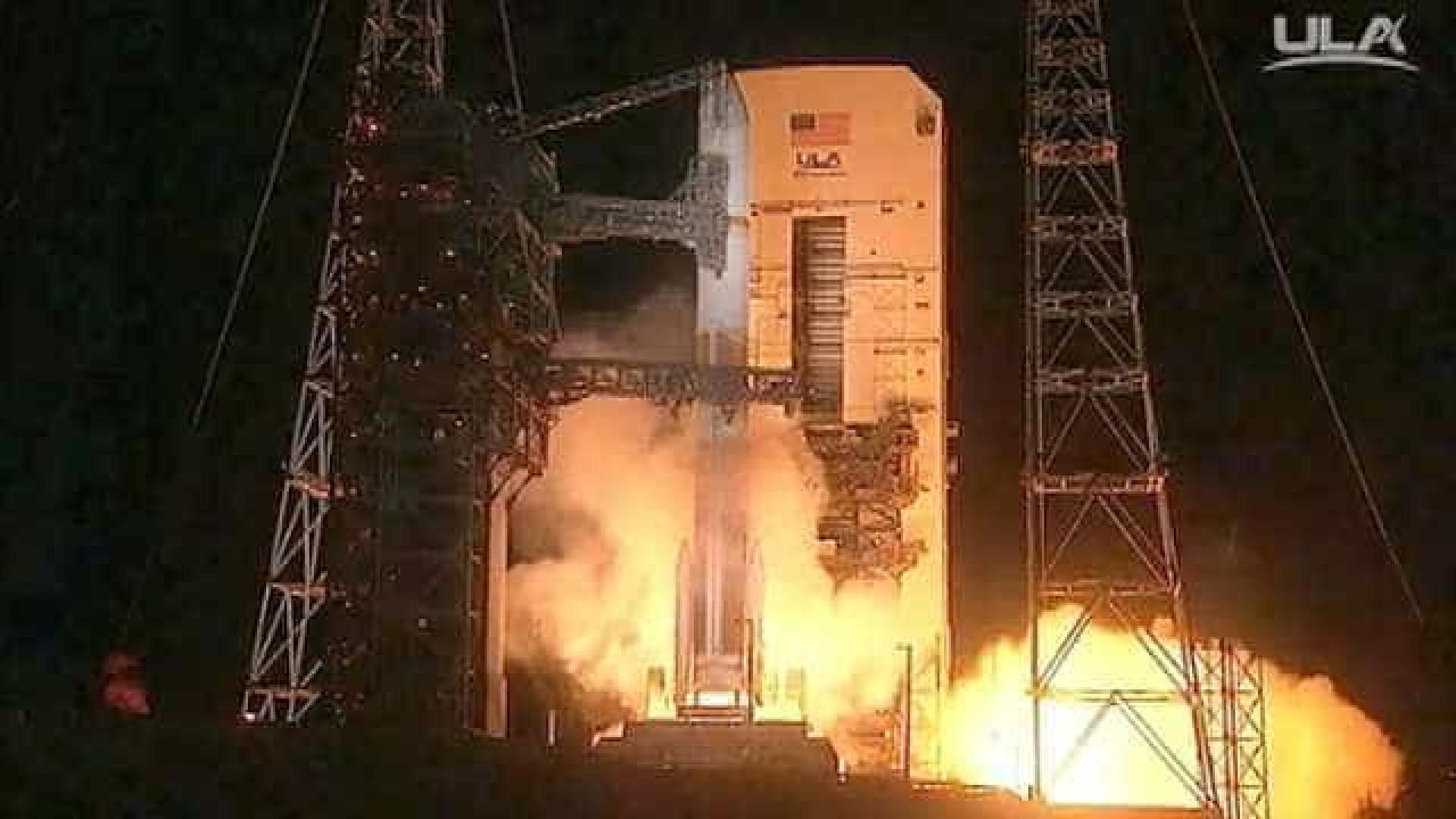 Rocket Delta IV lançado para o Espaço com sucesso