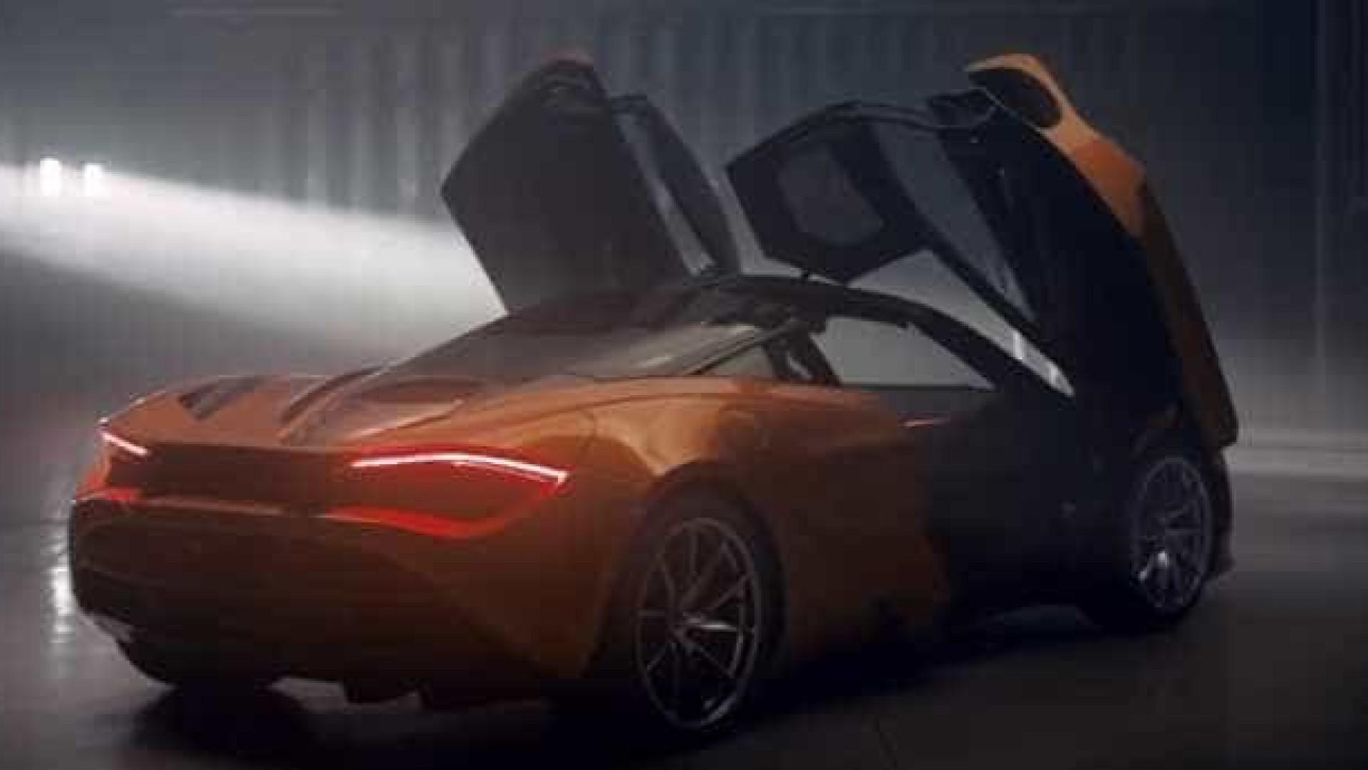McLaren apresenta o 720S no Algarve com uma voz que o fará arrepiar-se