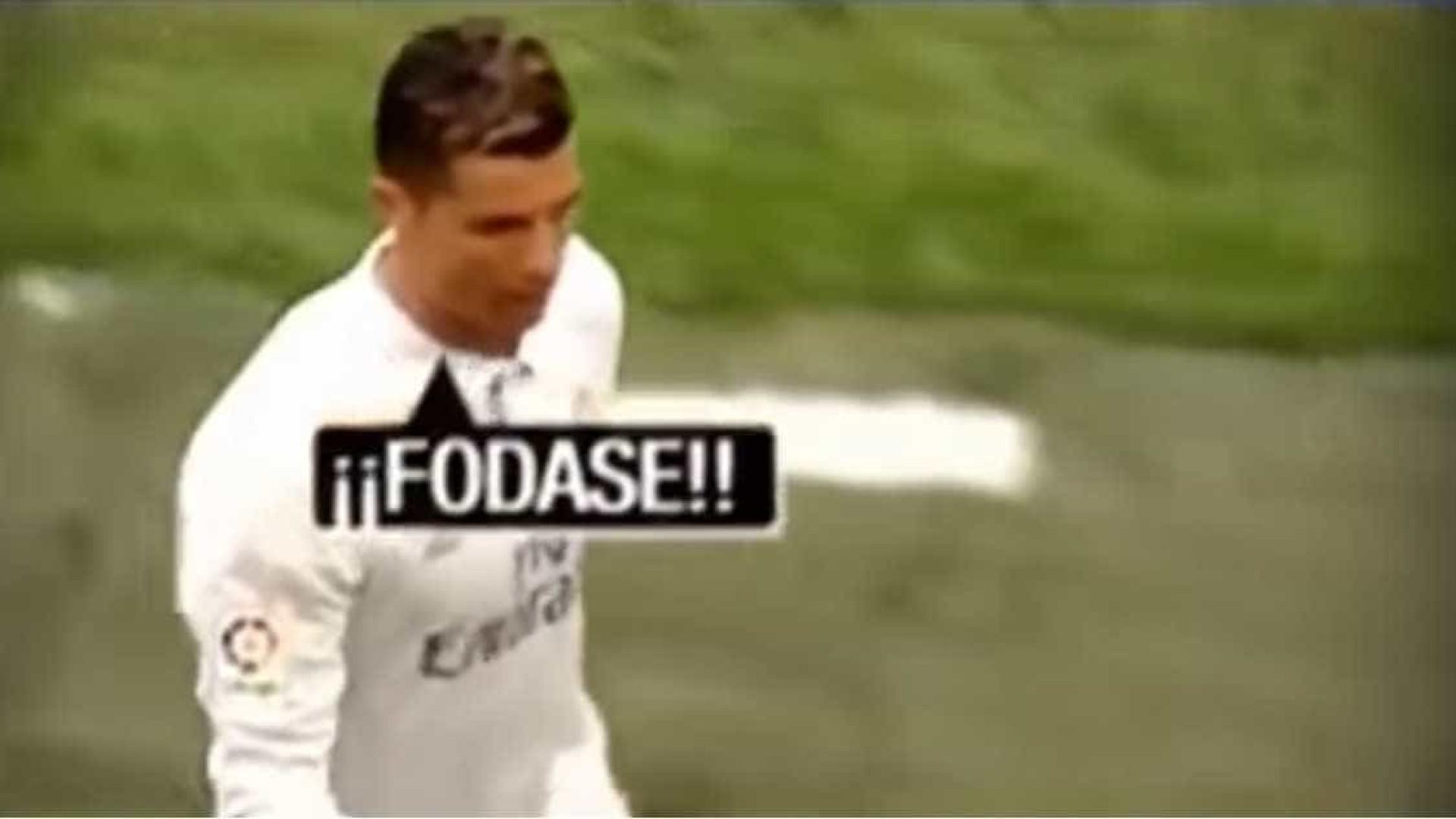 """Ronaldo é substituído e terá dito a Zidane: """"Porquê eu? F..."""""""