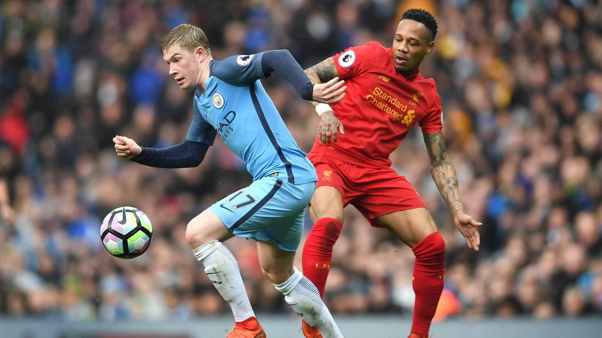 Manchester City empata com Liverpool e já vê liderança a 12 pontos