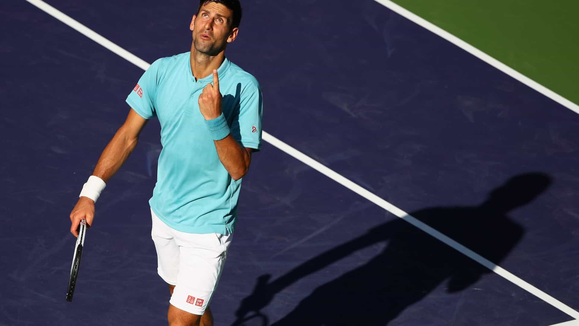 Após Murray, Djokovic anuncia desistência do Open de Miami por lesão