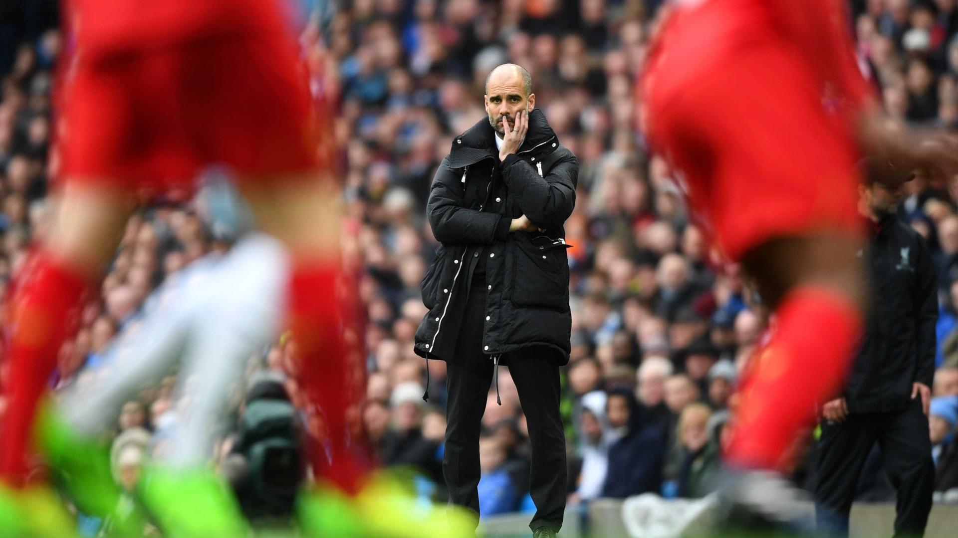 """Guardiola reage ao empate: """"Um dos dias mais felizes da minha carreira"""""""