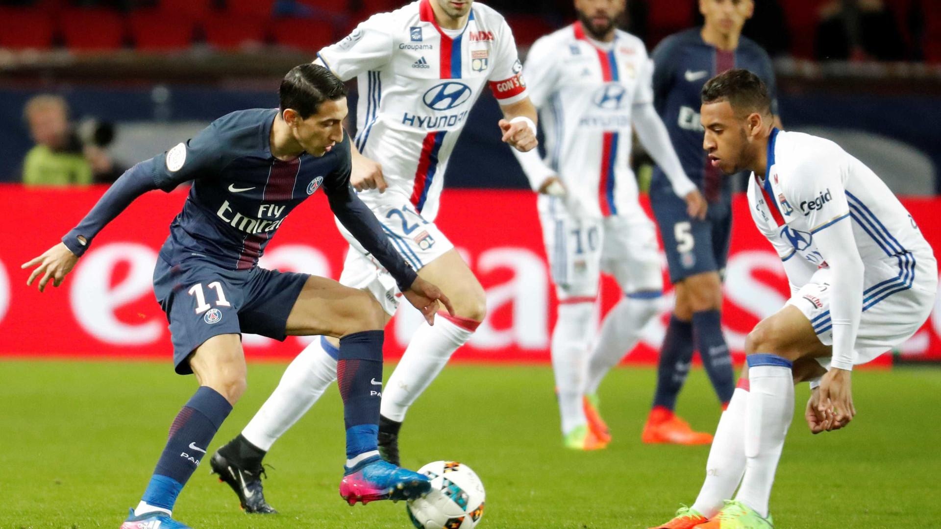 Paris Saint-Germain vence Lyon e mantém pressão sobre líder Mónaco