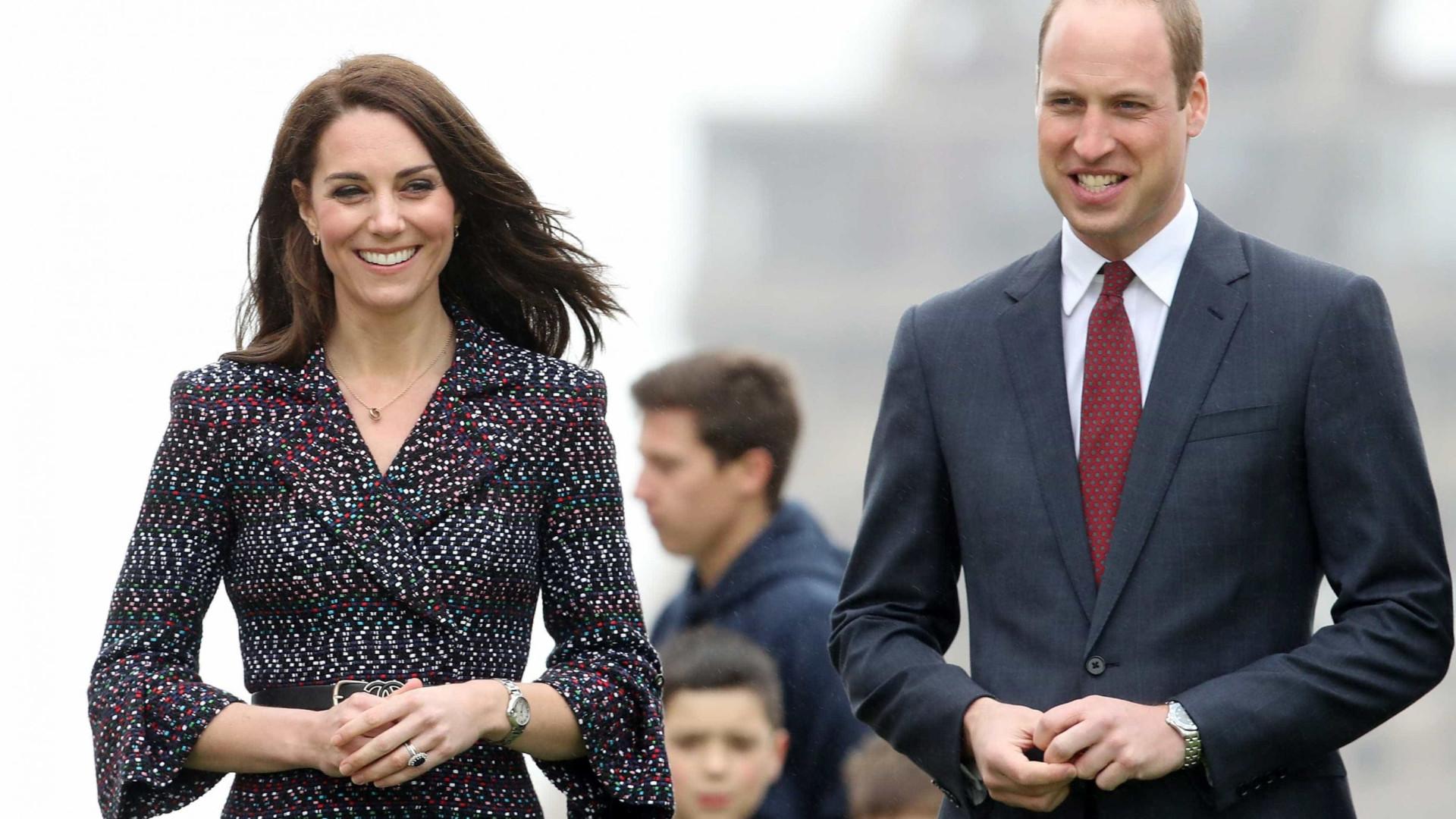 Nasceu o bebé real: William e Kate foram pais pela terceira vez