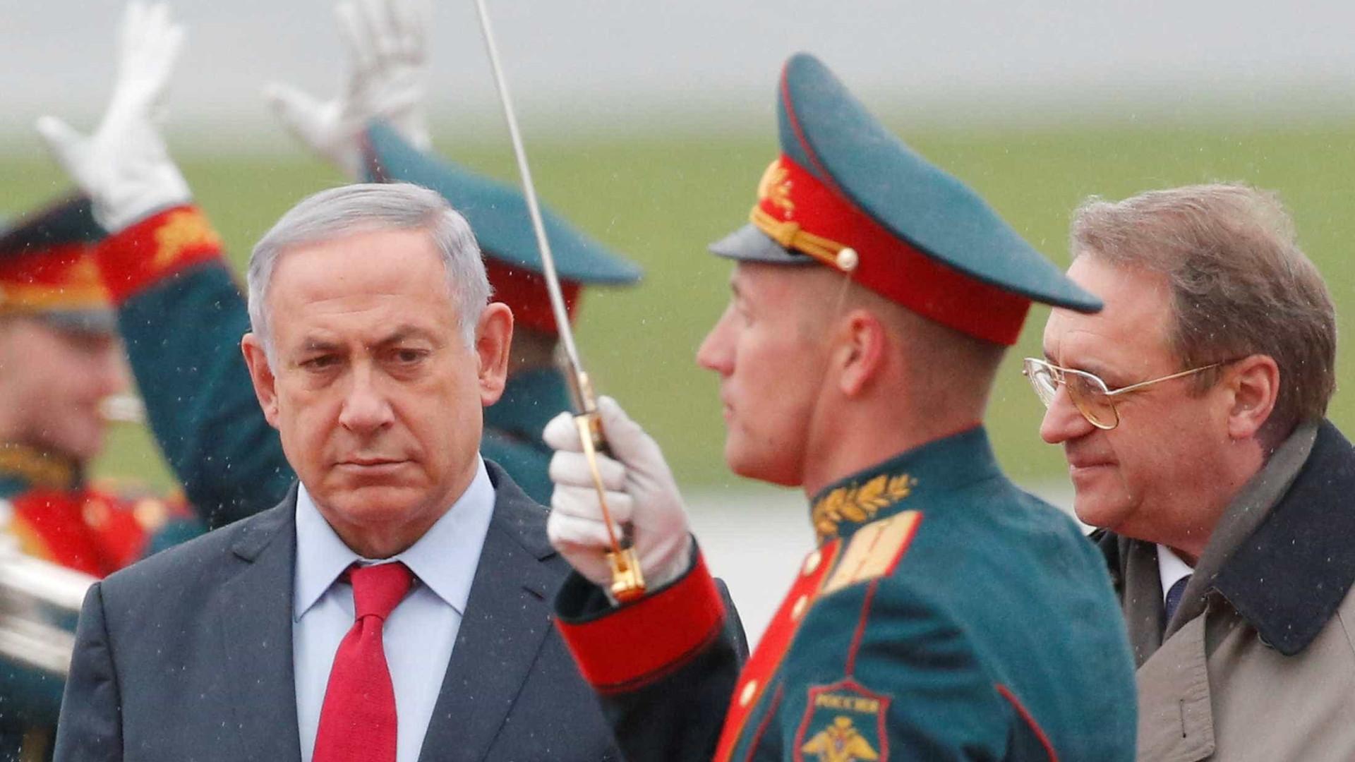 Rússia chamou embaixador de Israel após bombardeamento perto de Palmira