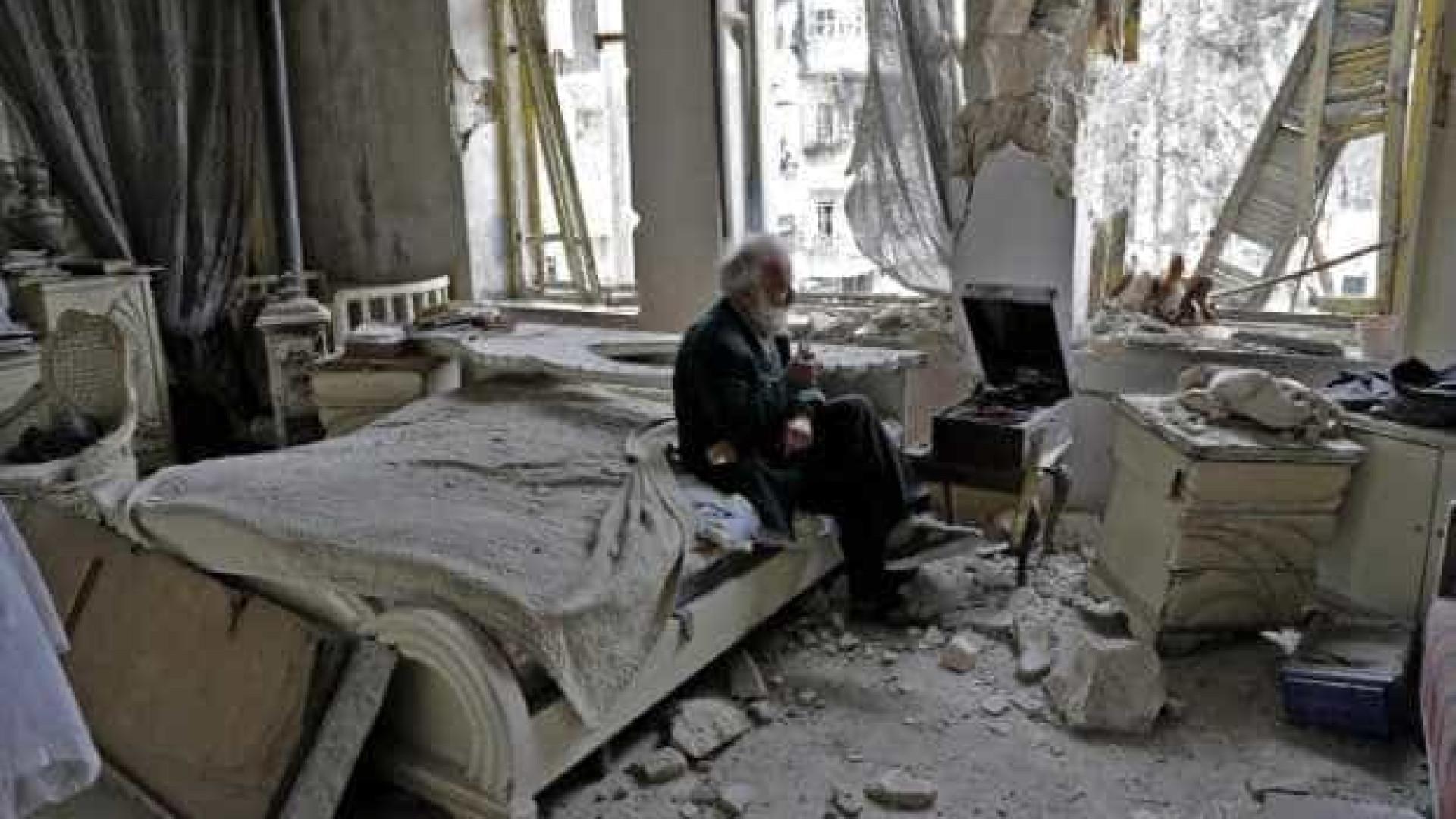 Mohammed recusa abandonar Alepo por causa da sua coleção de carros