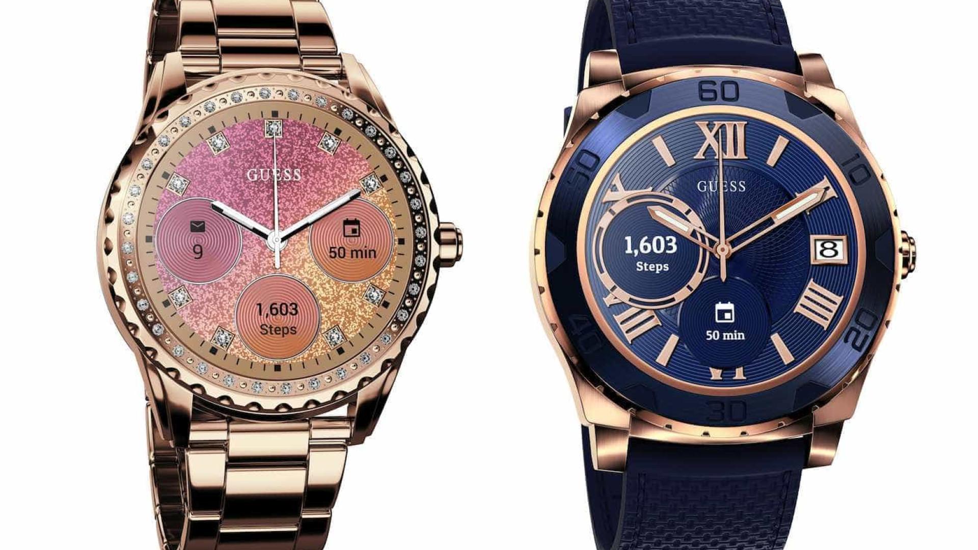 Vai ser difícil resistir ao novo relógio inteligente da Guess