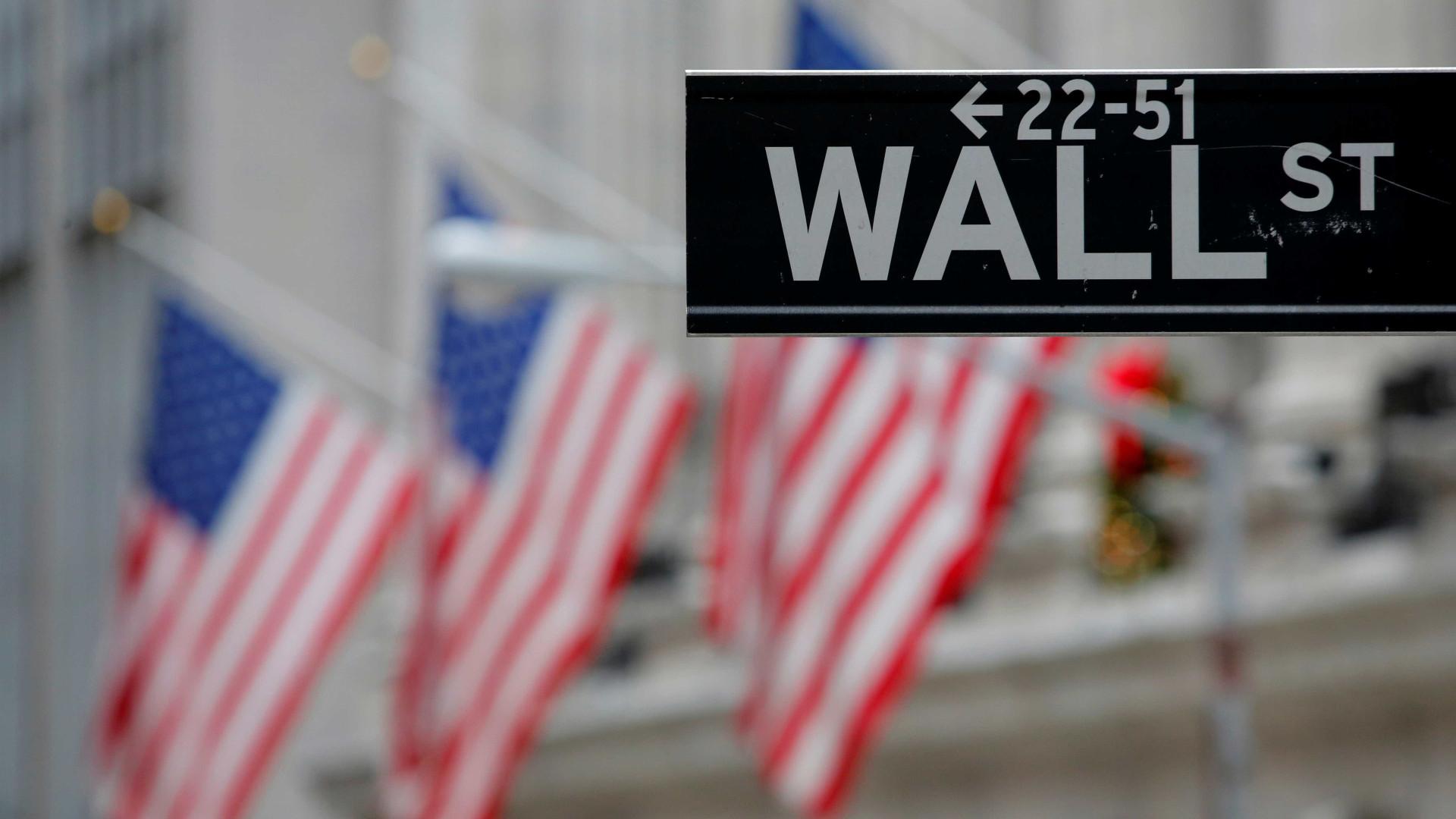 Wall Street volta a registar uma queda acentuada