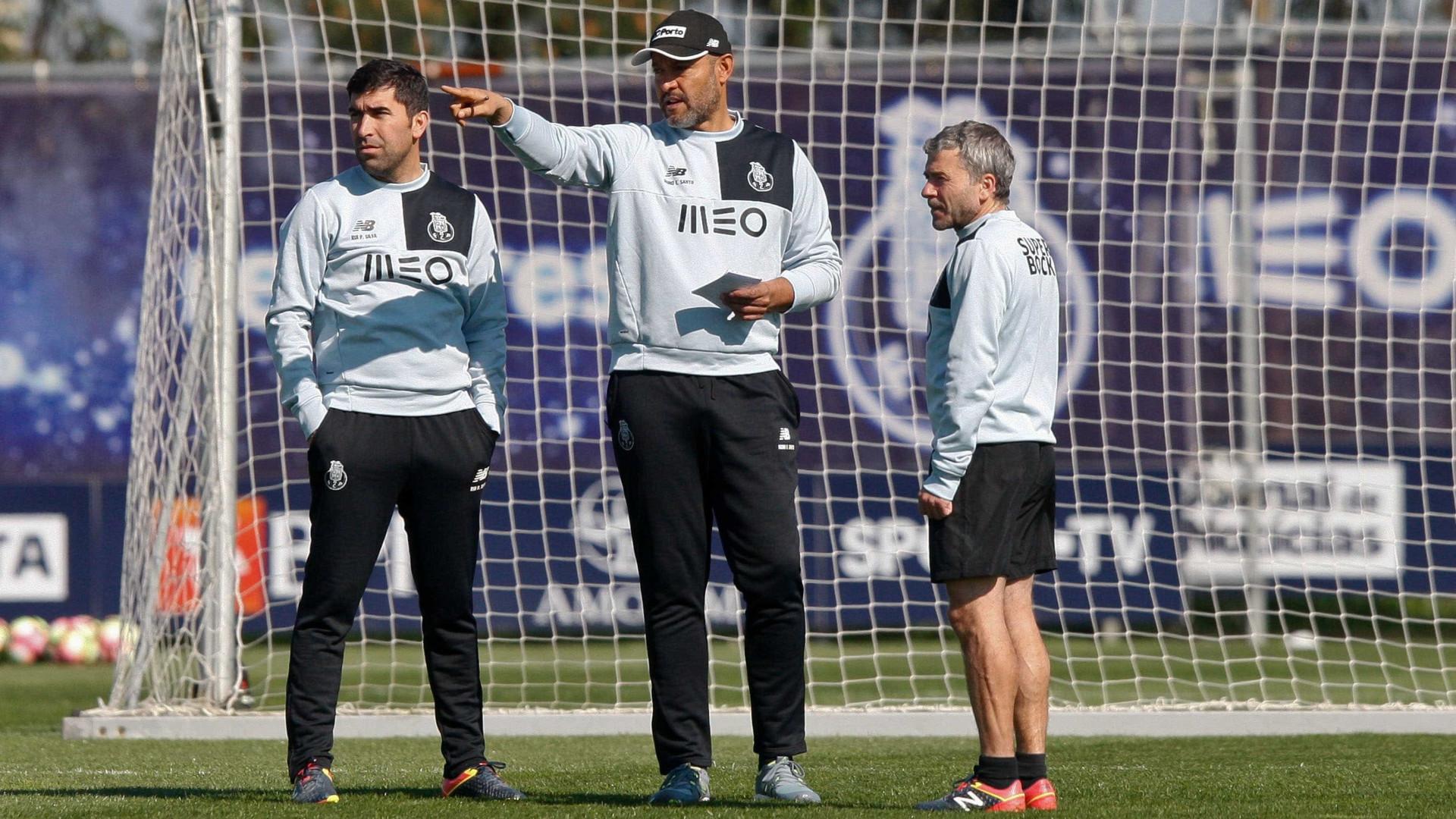 FC Porto trabalha com o grupo completo na preparação ao Feirense