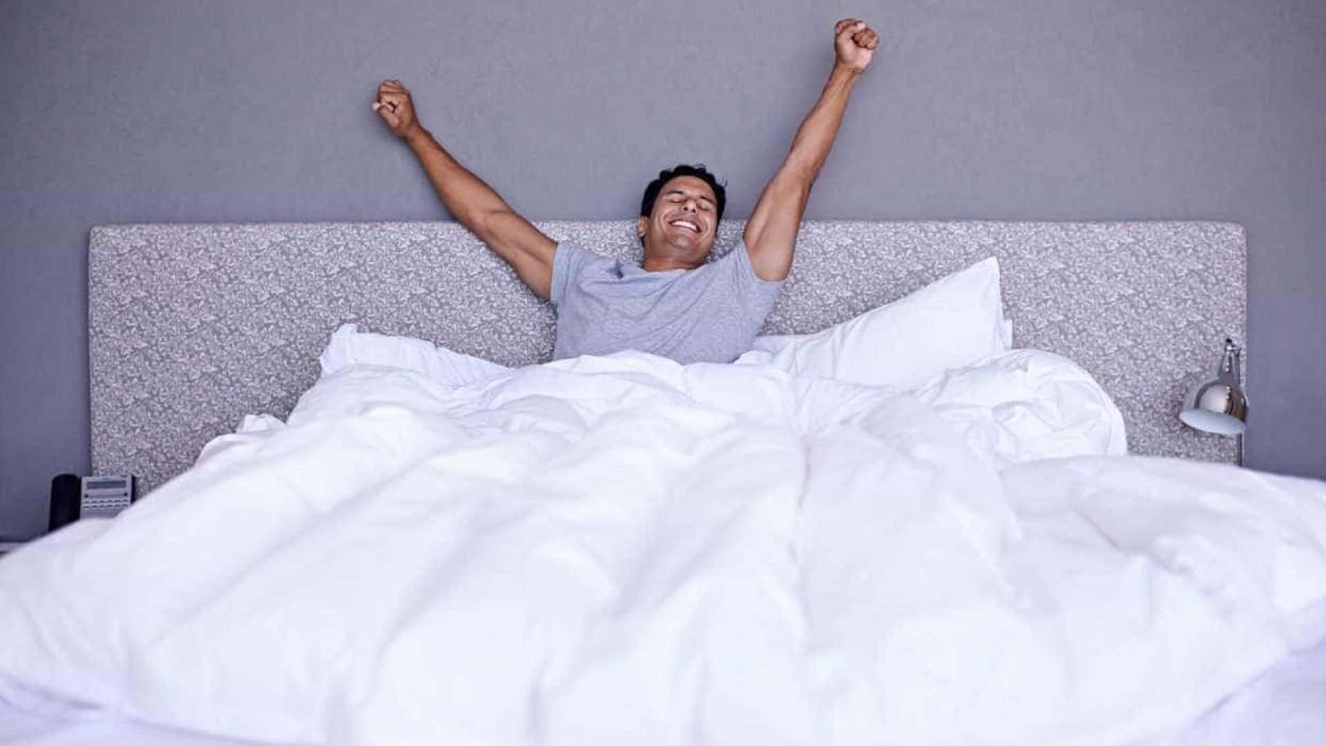 Uma boa noite de sono sabe tão bem como ganhar a lotaria