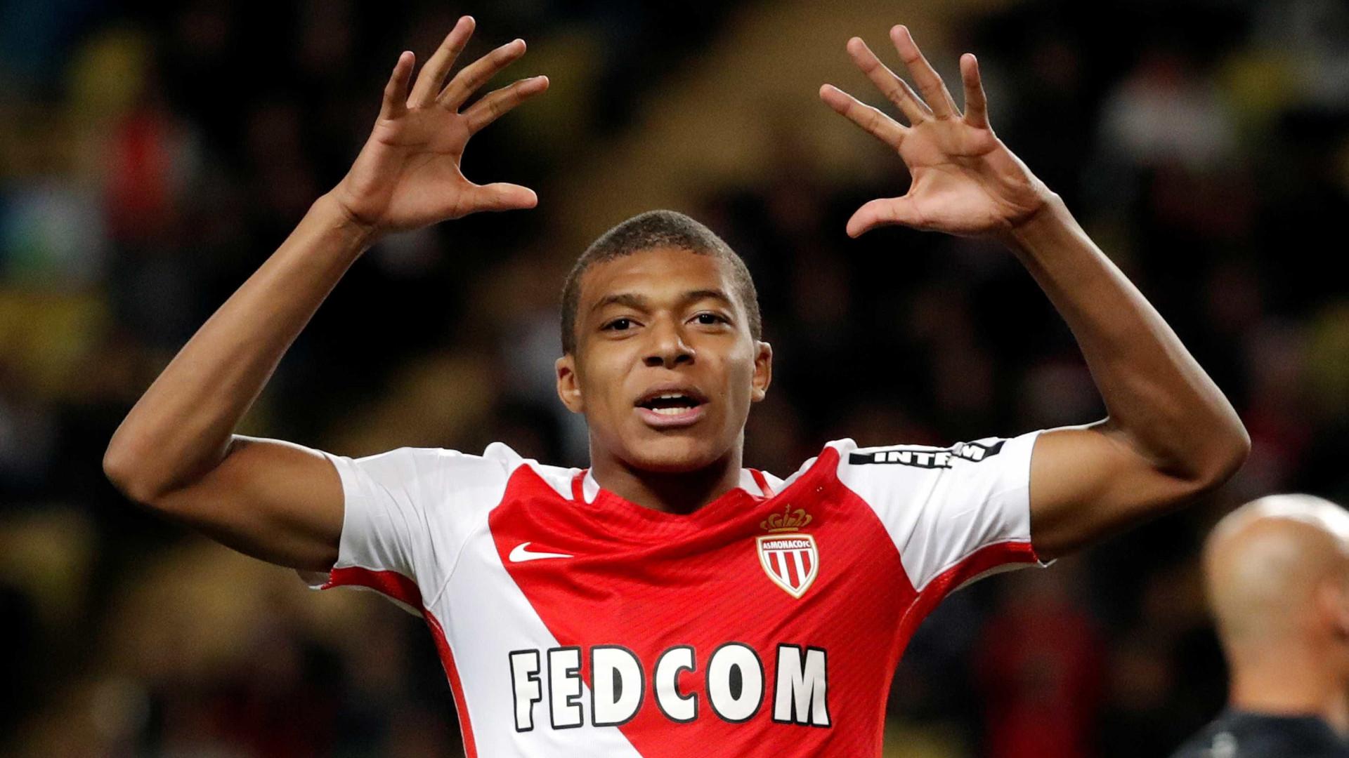 PSG quer antecipar-se ao Real Madrid e 'roubar' Mbappé ao Monaco