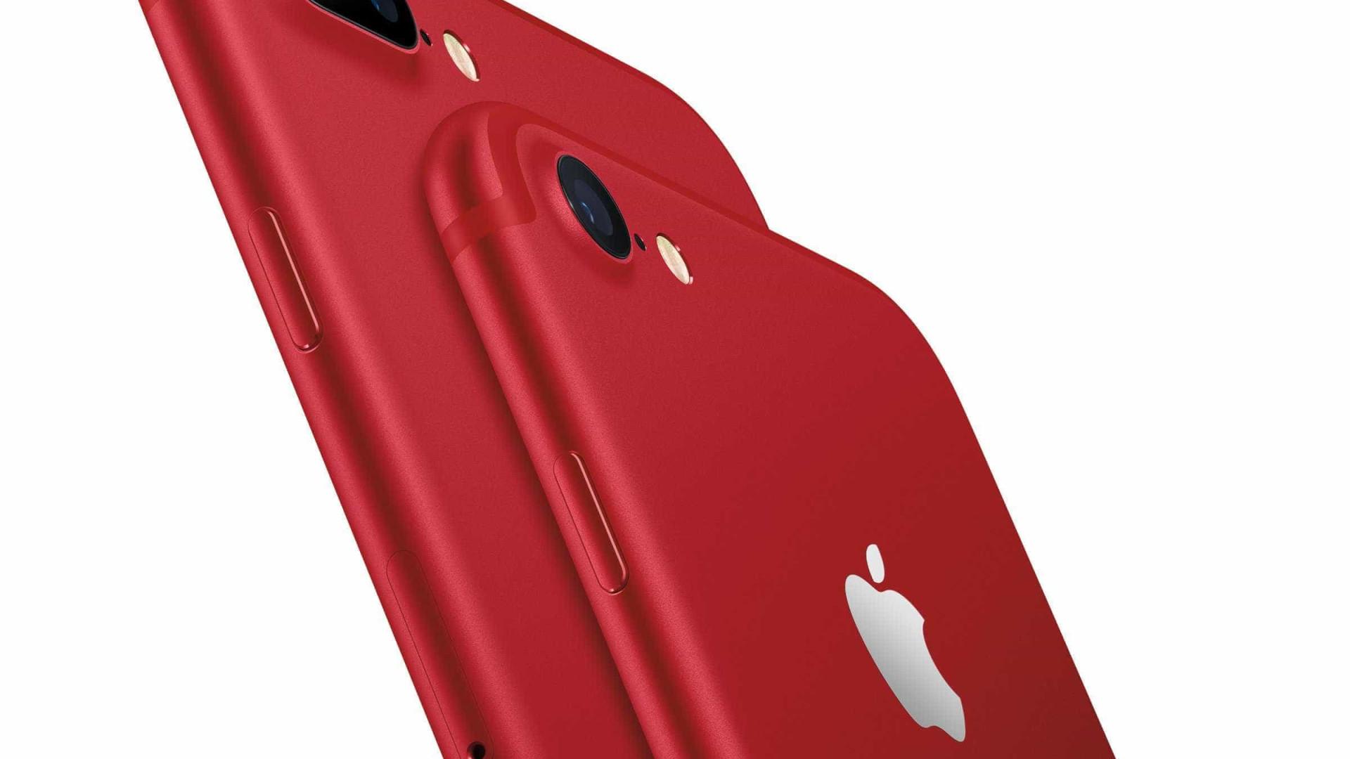 IPhone 8 vermelho é anunciado; ficha técnica permanece a mesma