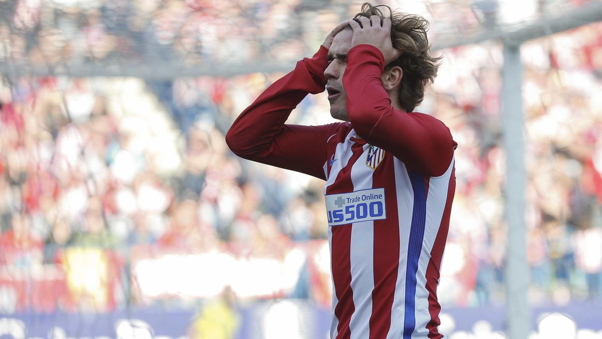 Griezmann: Contrato deixa-o mais próximo da saída do Atlético Madrid