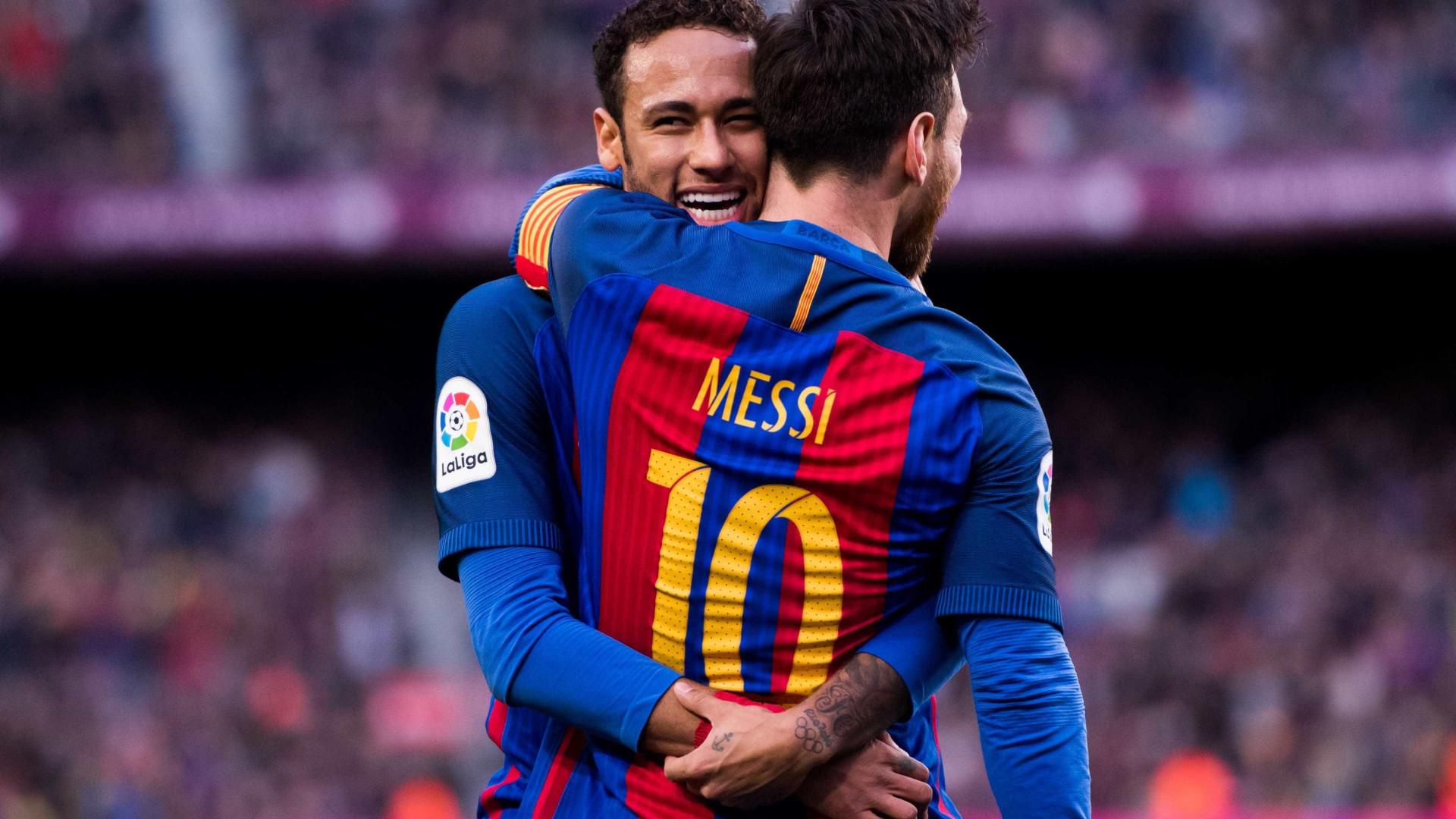 """""""Neymar? É capaz de rivalizar com Messi e Ronaldo"""""""