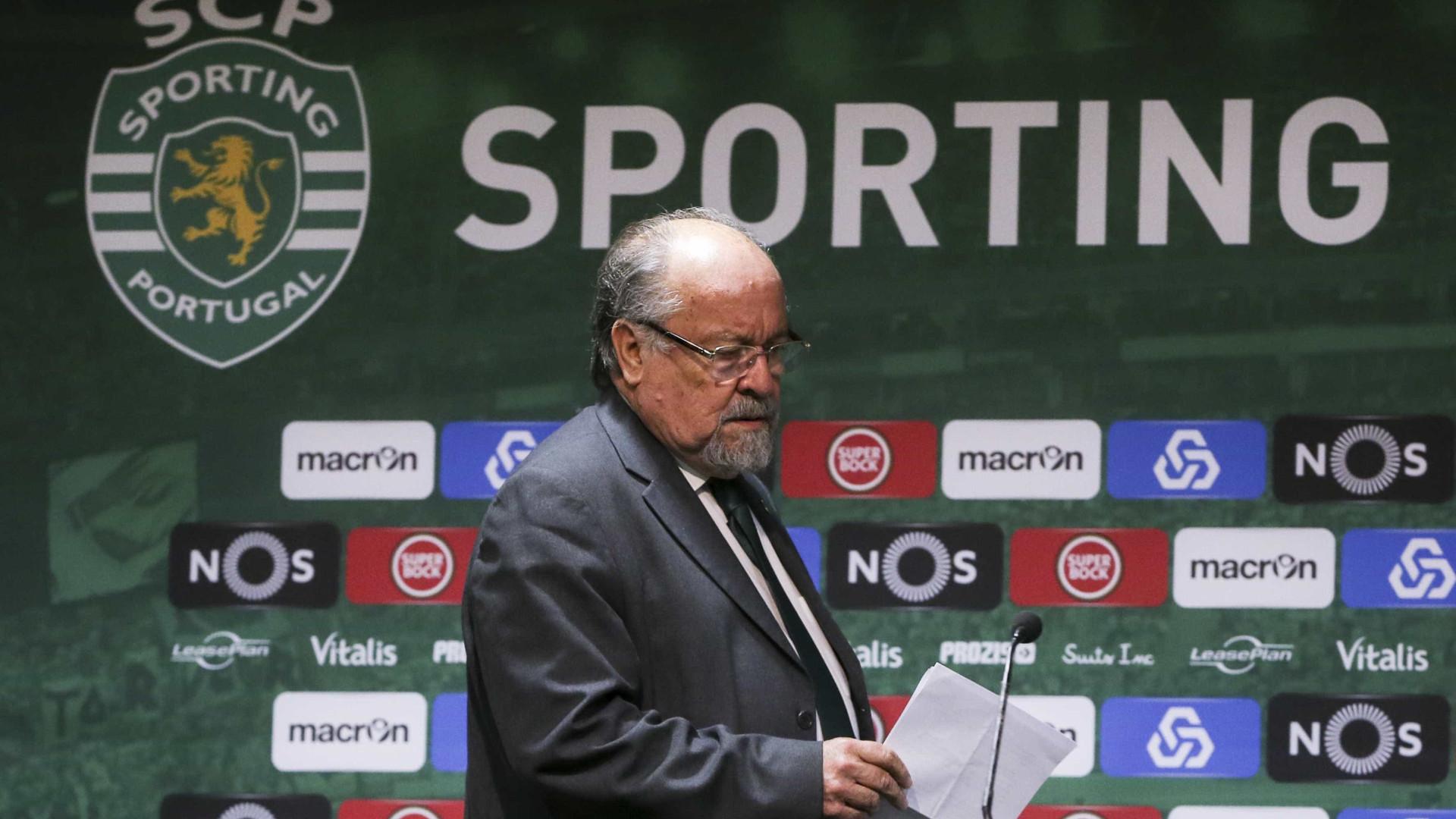 Mesa da Assembleia-Geral do Sporting demite-se em bloco