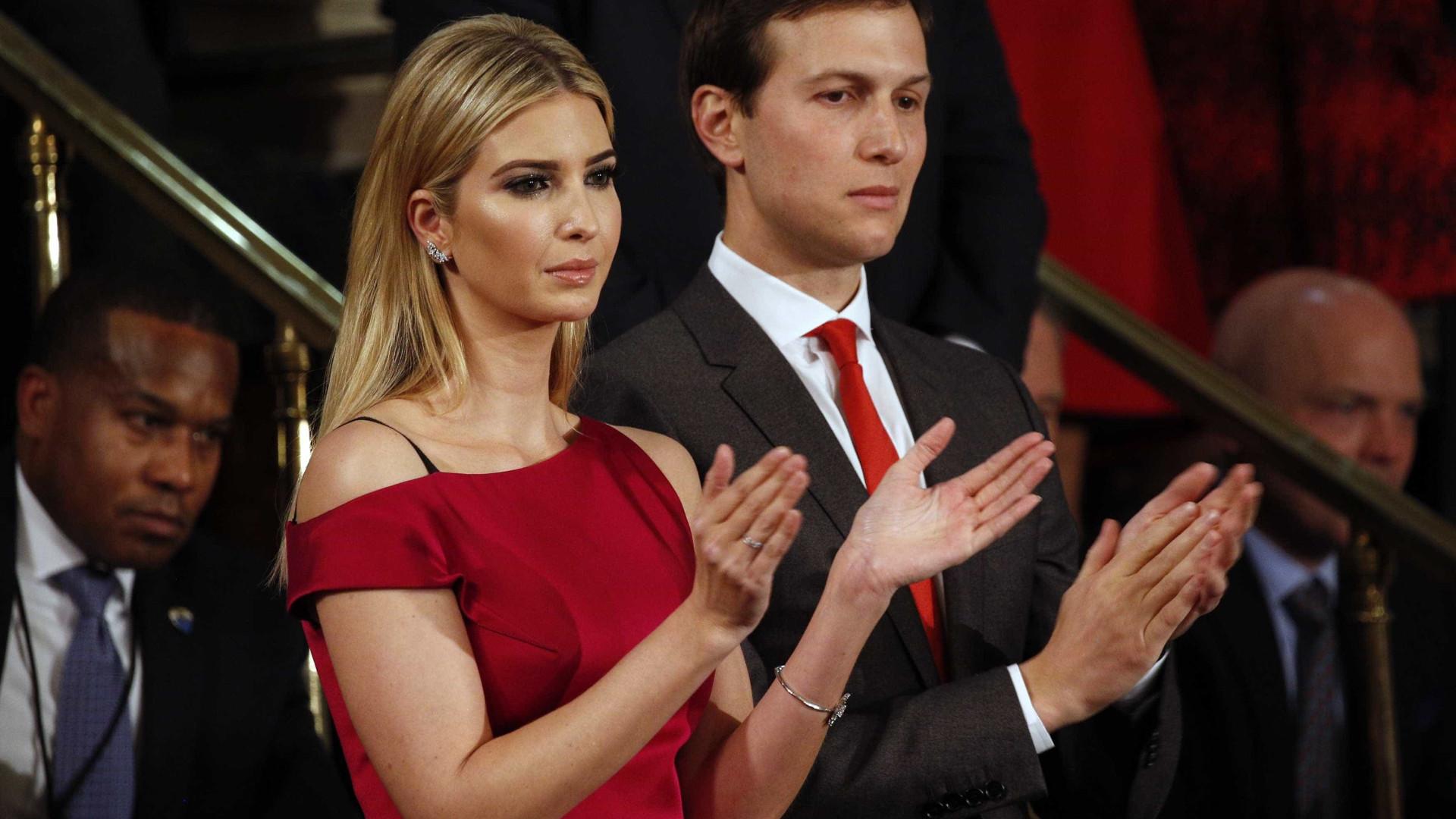 Ivanka e Victoria Beckham deixam mensagem especial aos maridos