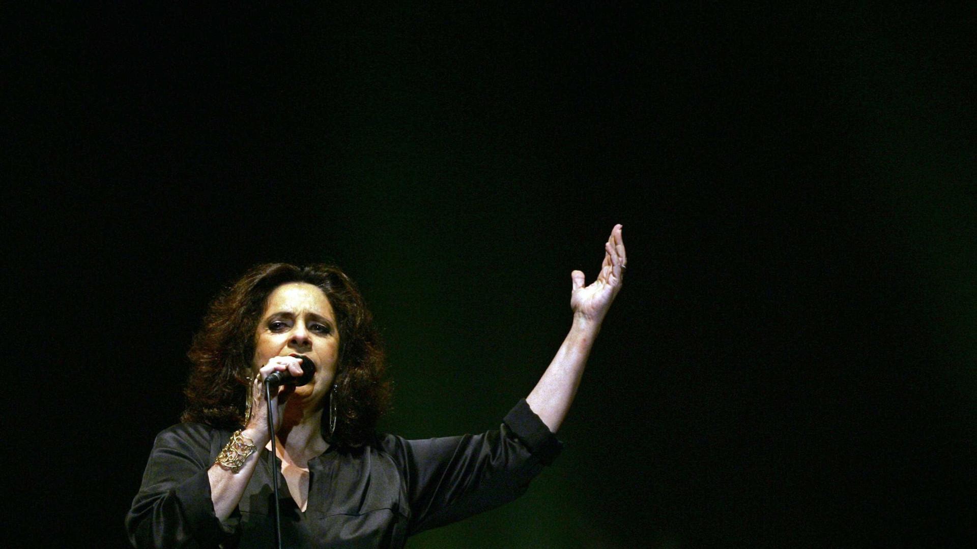 Gal Costa, Gilberto Gil e Nando Reis dão hoje primeiro de três concertos