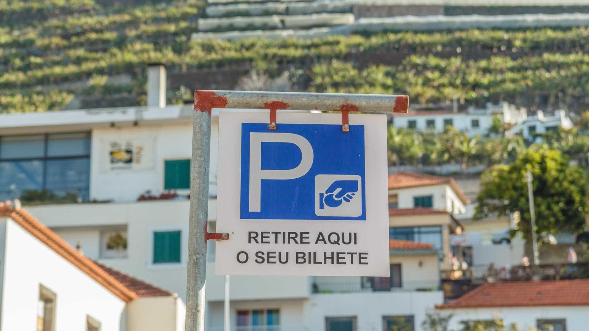 Receitas de estacionamento em Portugal crescem 5,7% em 2016