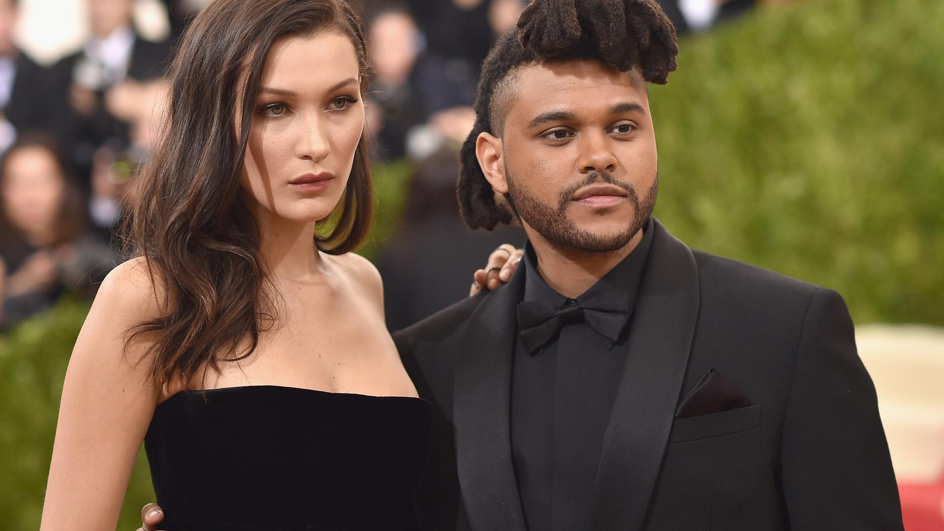 Após estar aos beijos com Hadid, The Weeknd é visto com outra rapariga