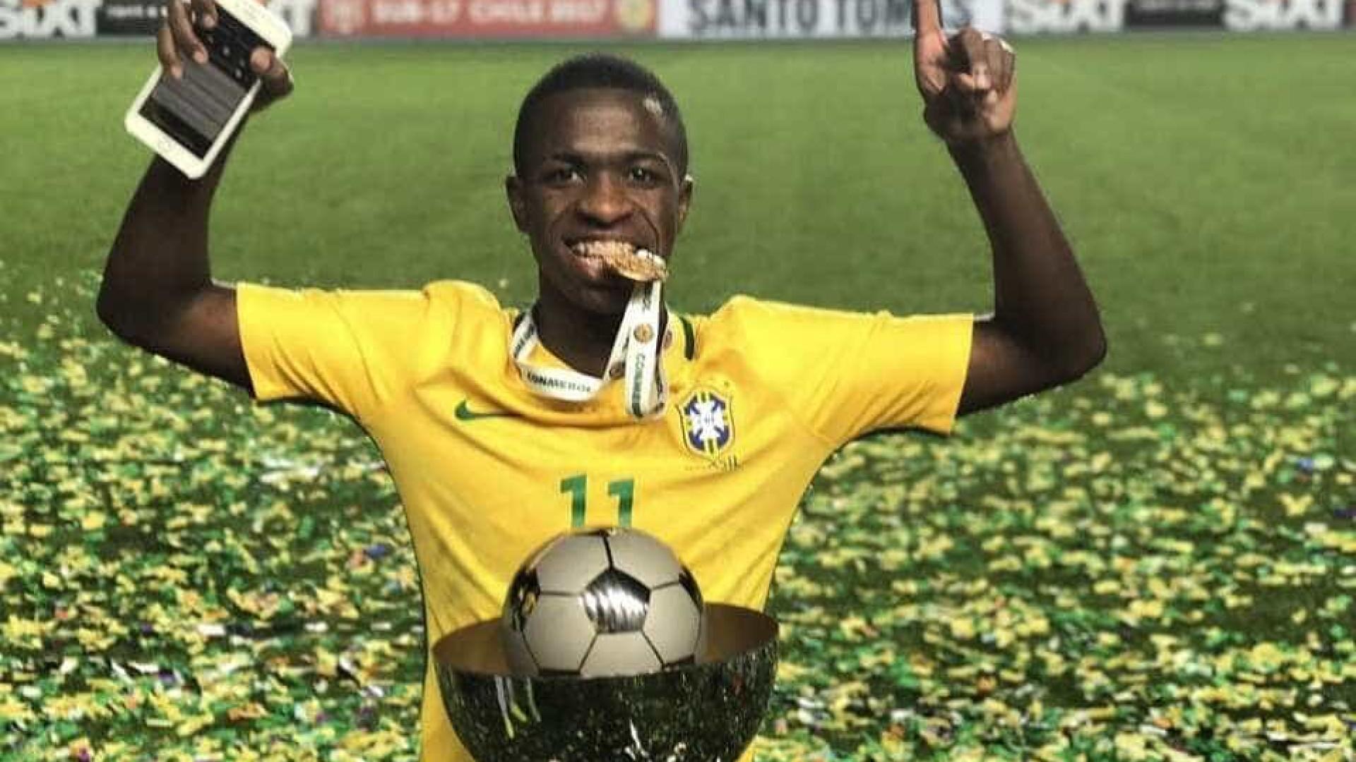 Vinicius Júnior voltará ao Real Madrid mais cedo