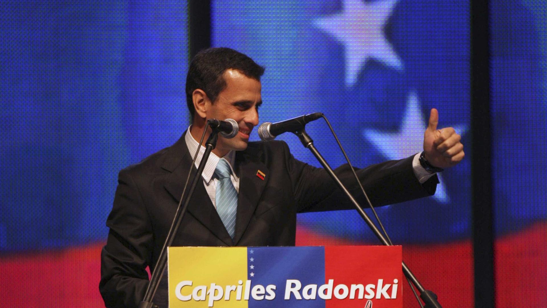Venezuela: Ex-candidato presidencial impedido de sair do país