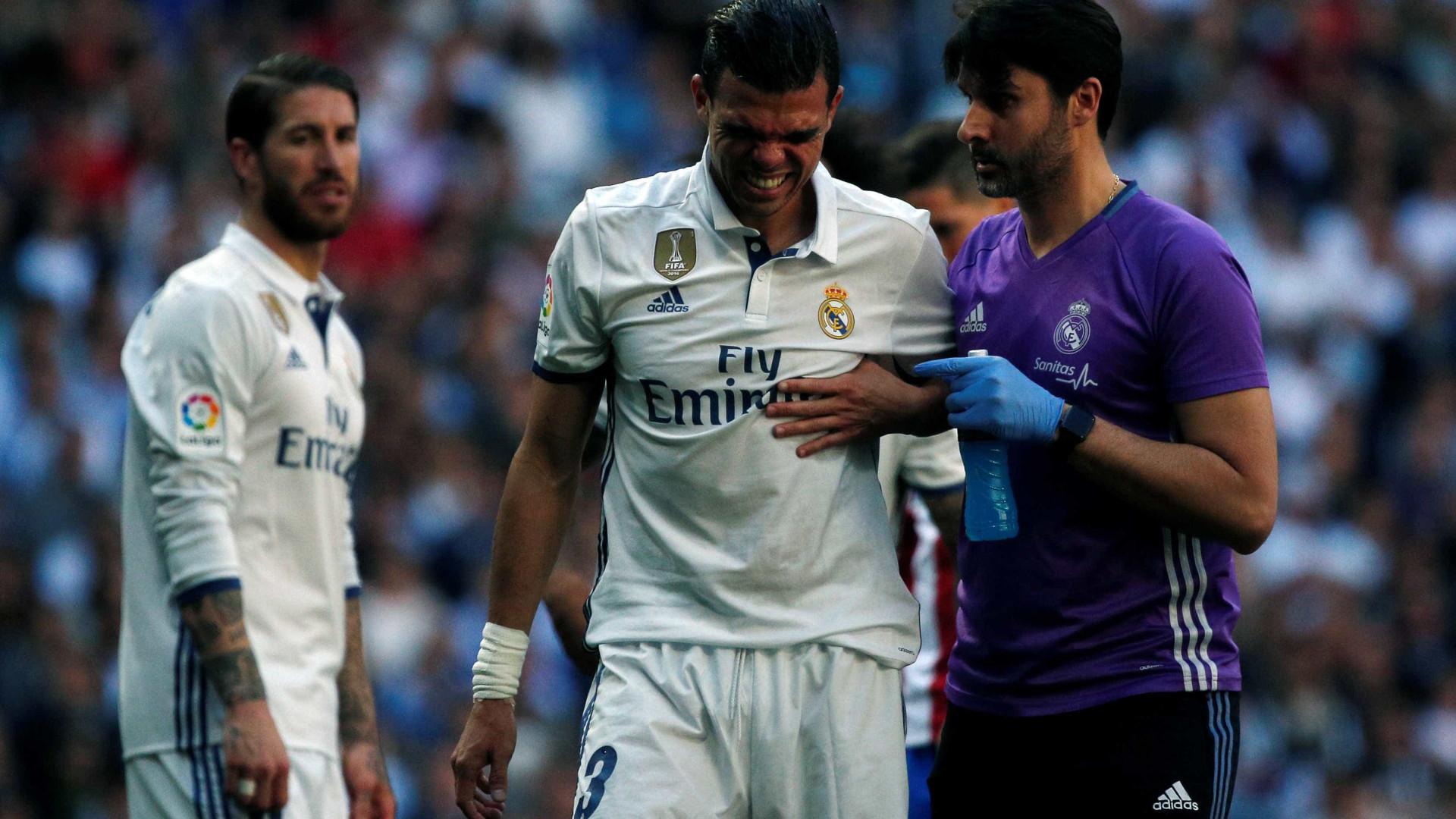2be02320e1f Pepe sem possibilidade de se despedir dos adeptos no Santiago Bernabéu