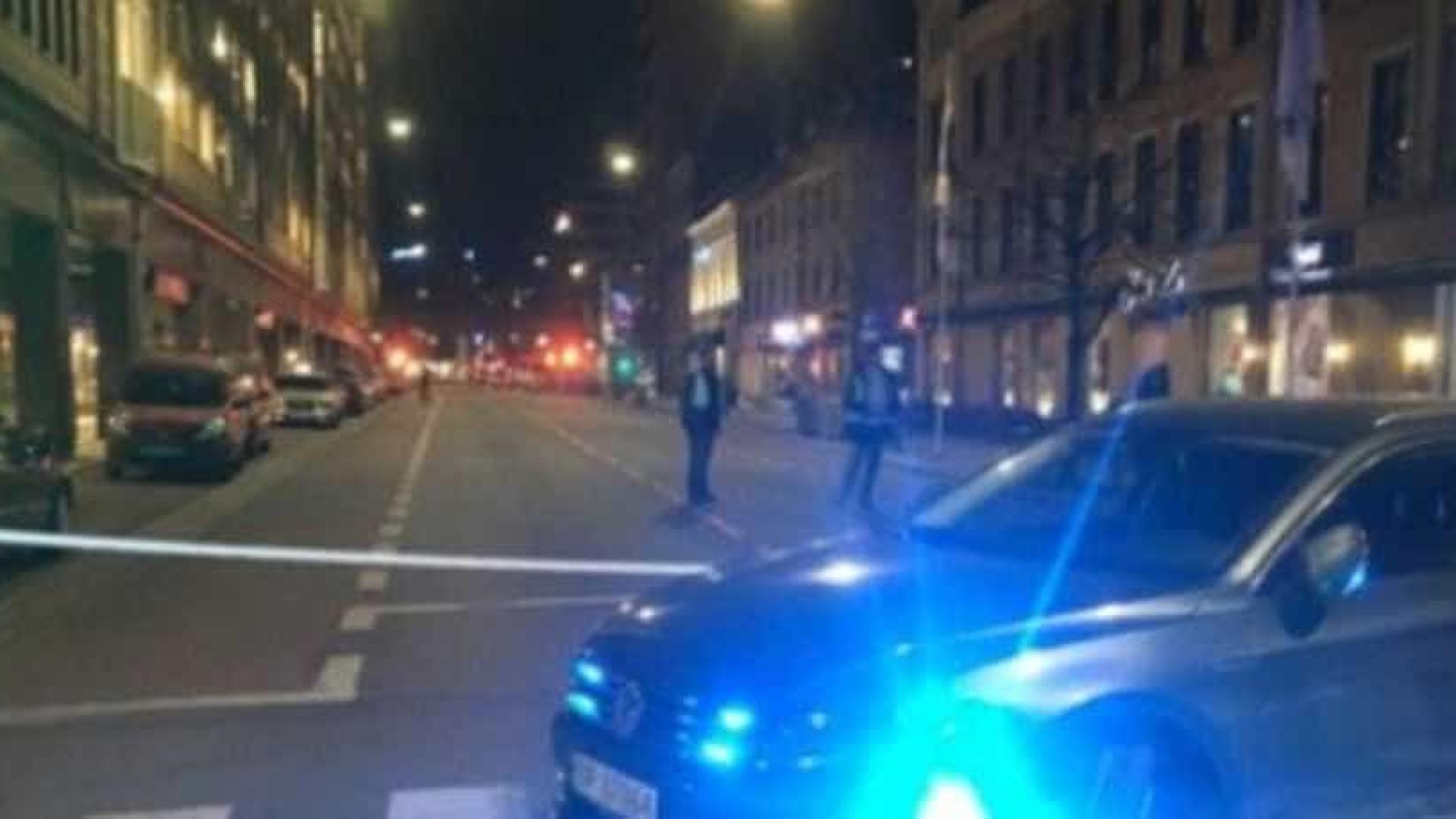 Engenho explosivo encontrado no centro da capital da Noruega