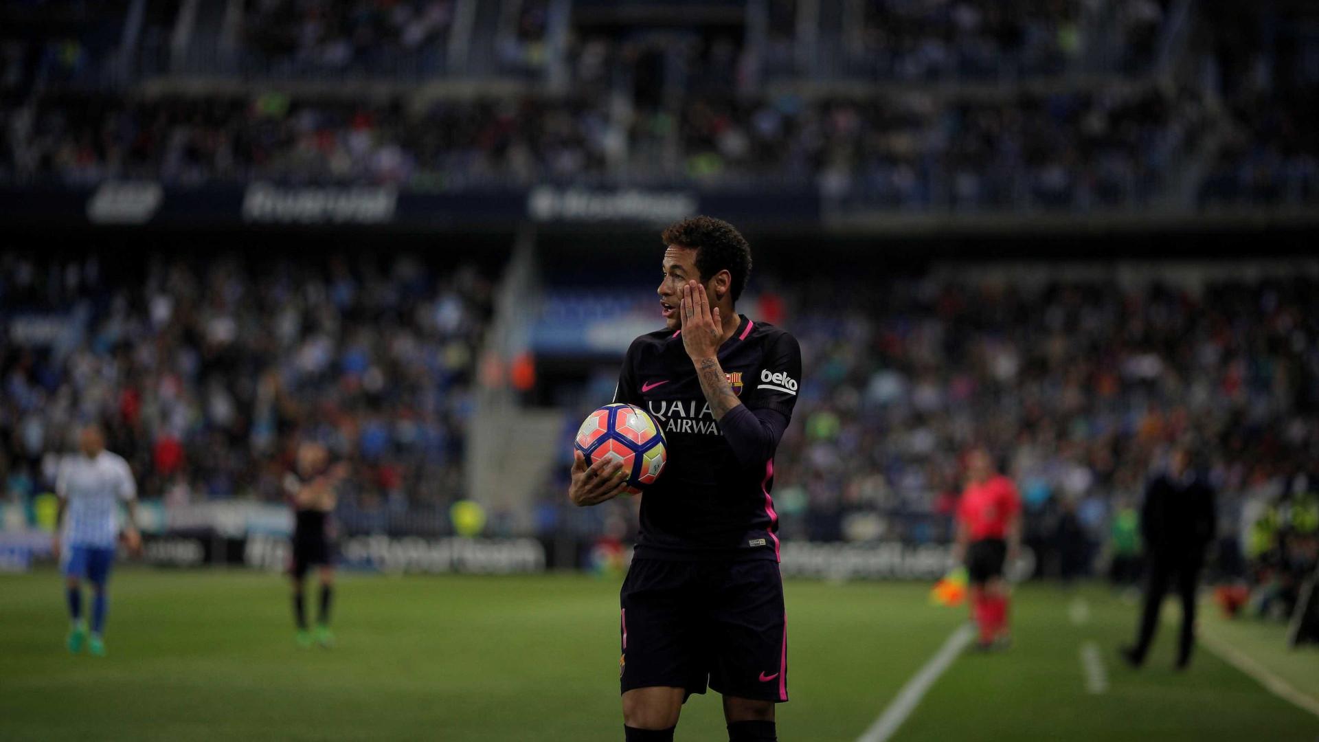 Barcelona recorre do castigo de Neymar ao TAS
