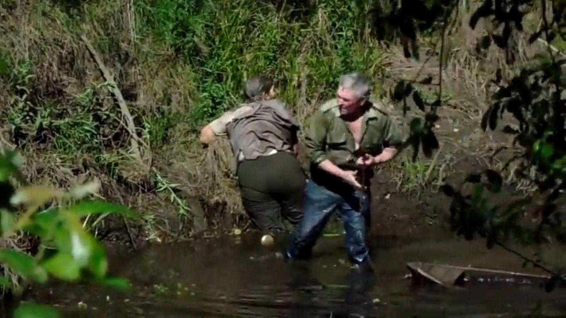 GNR procura homem apanhado em flagrante a tentar afogar a mulher