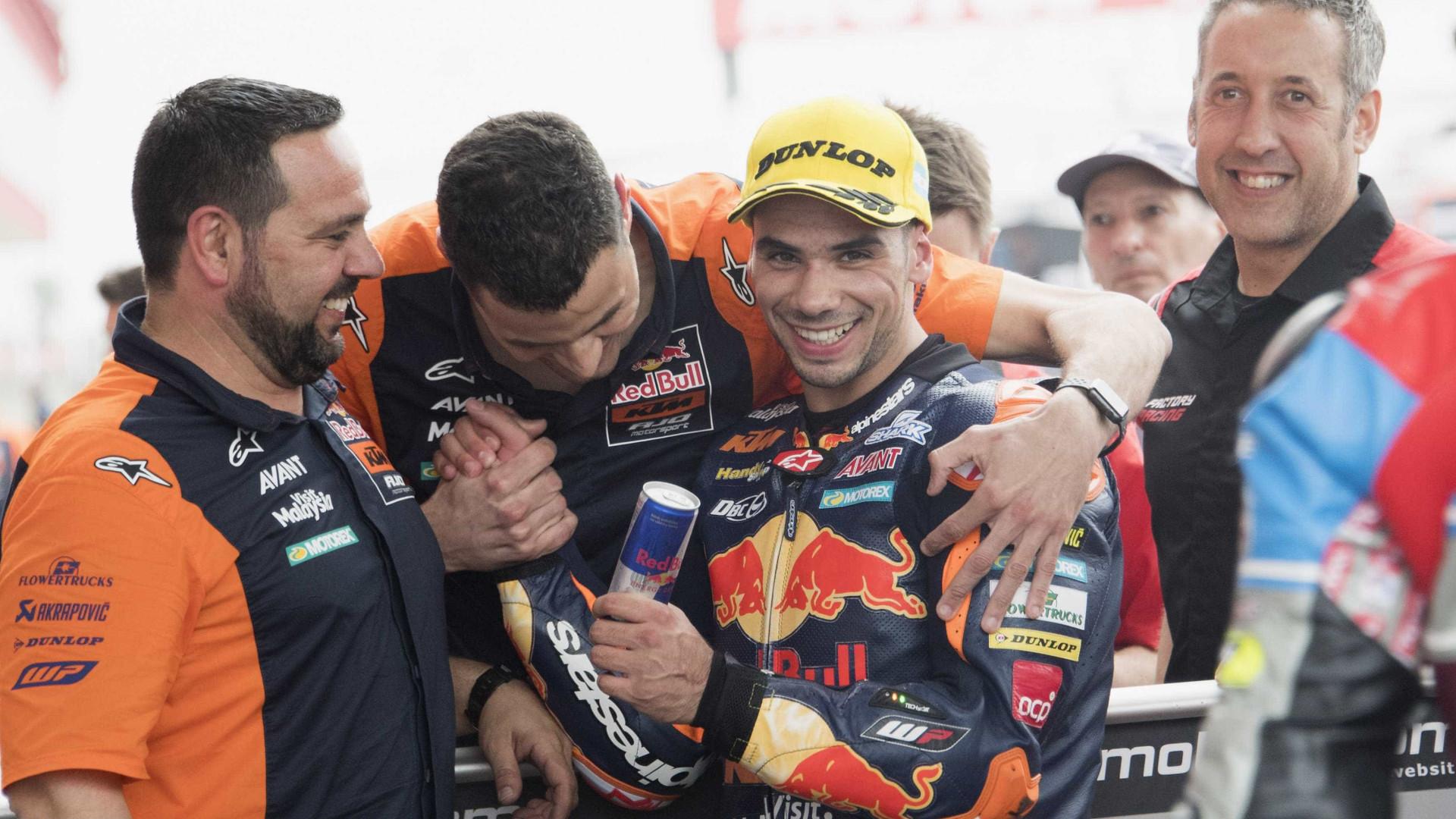 PSP 'perdoa' e dá os parabéns a Miguel Oliveira