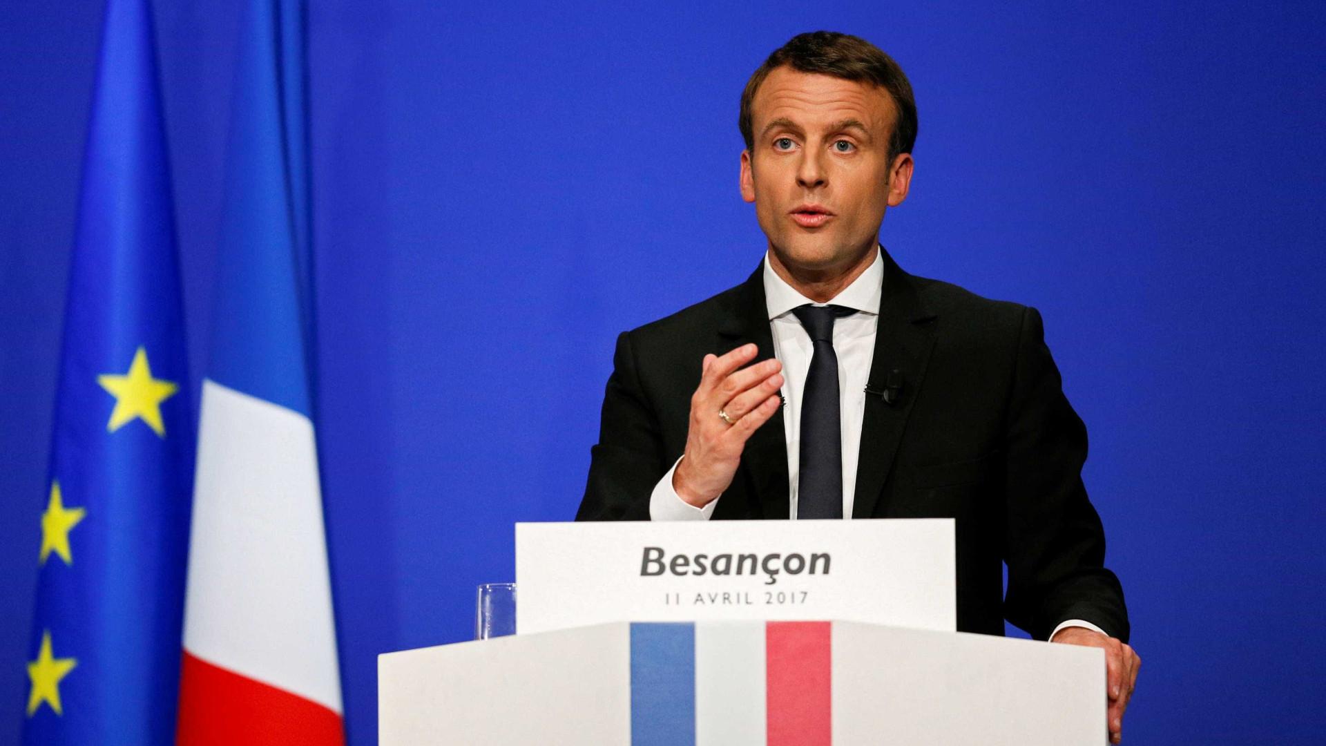 "PCP lamenta maioria absoluta de ""neoliberal"" Macron"