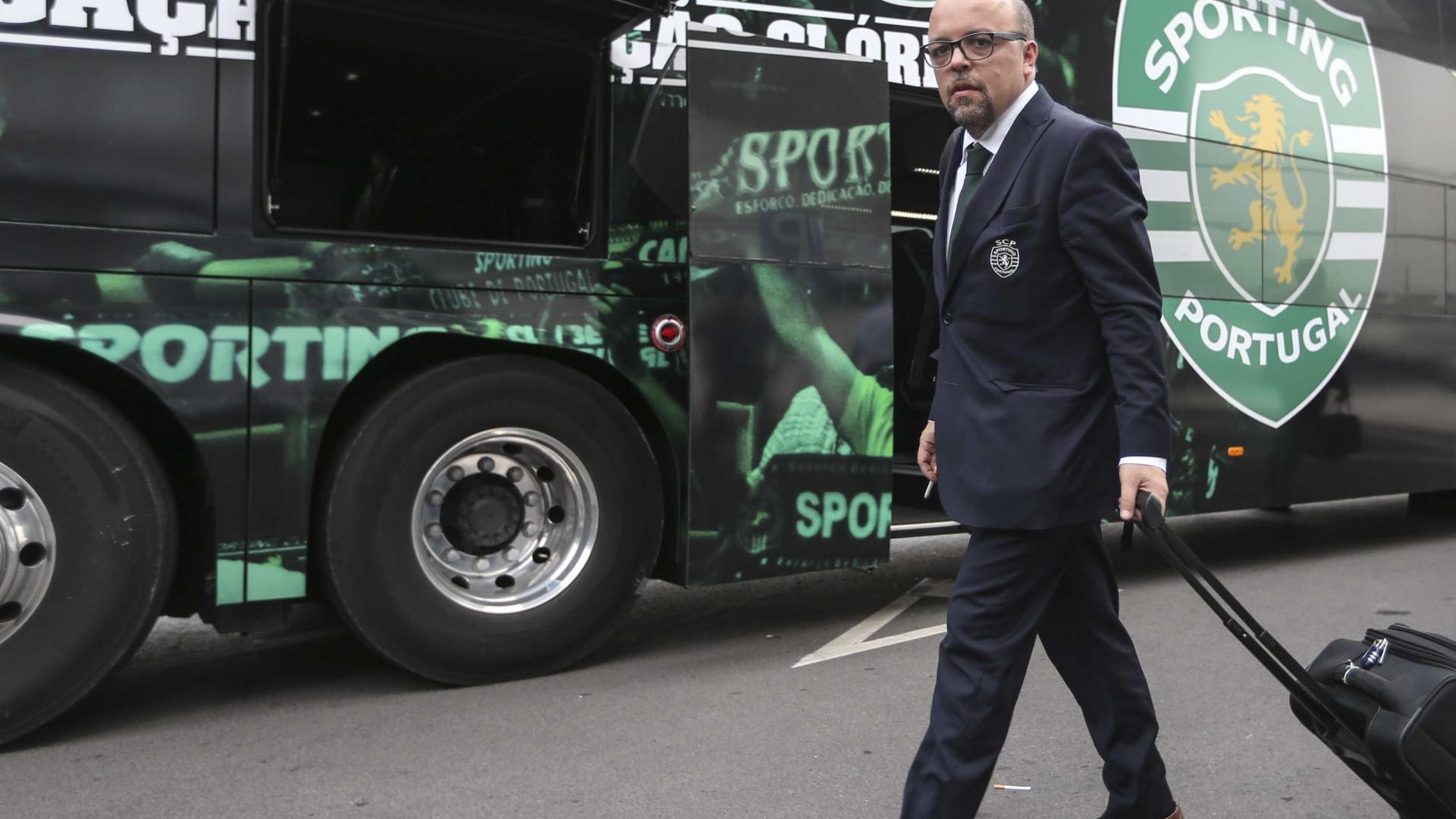 Sporting avança com uma queixa na FIFA contra o West Ham por aliciamento