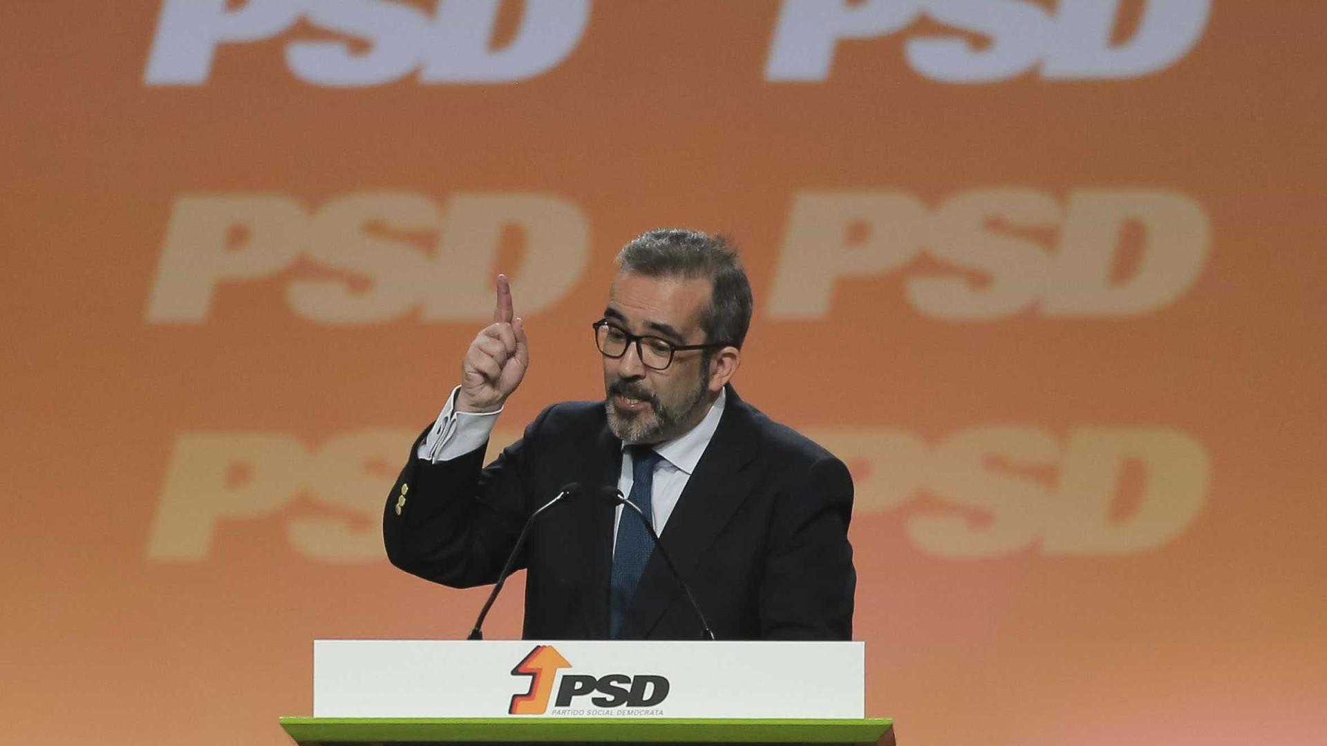 Rangel fala de momento feliz para PSD que saiu vitalizado das eleições