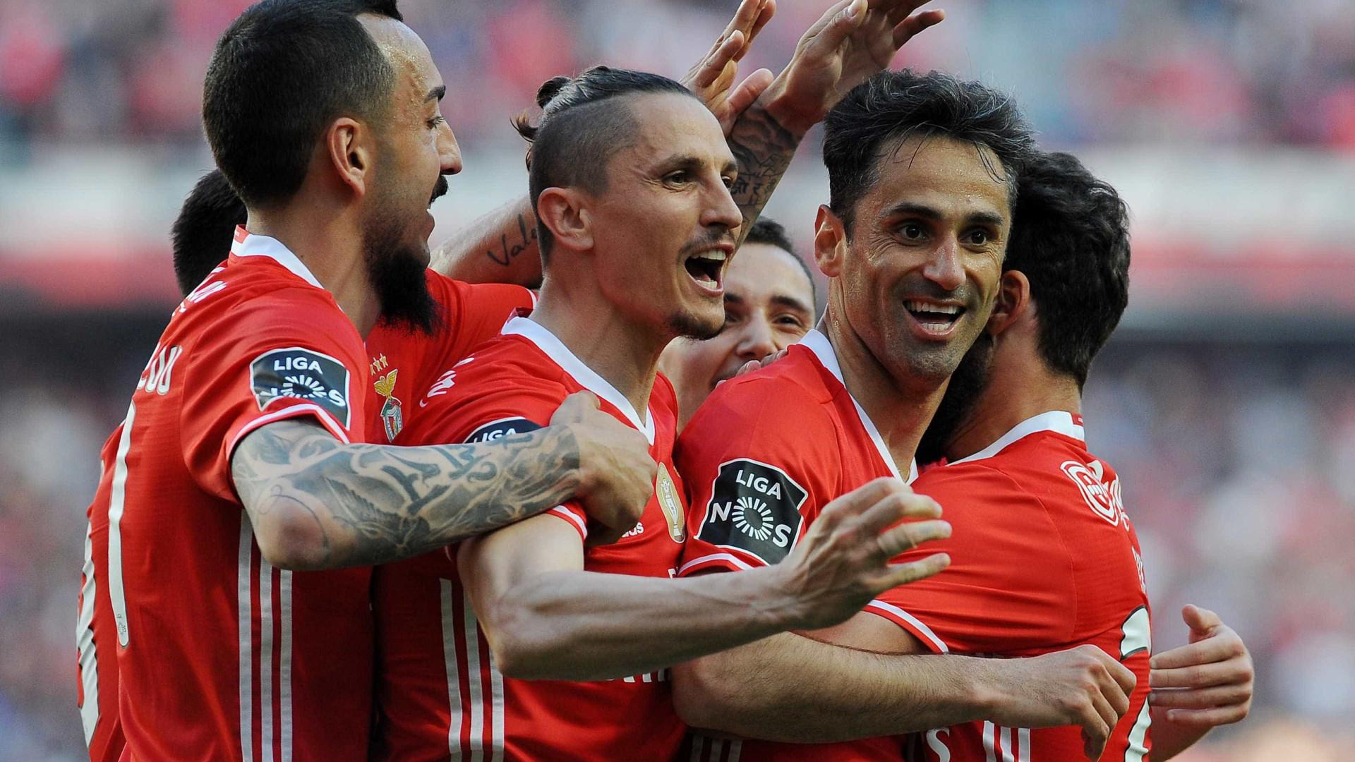 Jonas ultrapassa Magnusson como segundo melhor marcador estrangeiro do Benfica