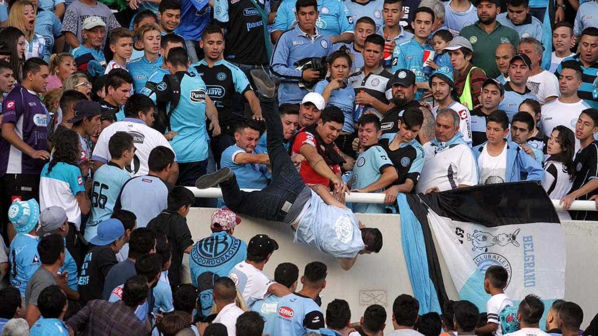 Conmebol pede minuto de silêncio pela morte de jovem adepto do Talleres