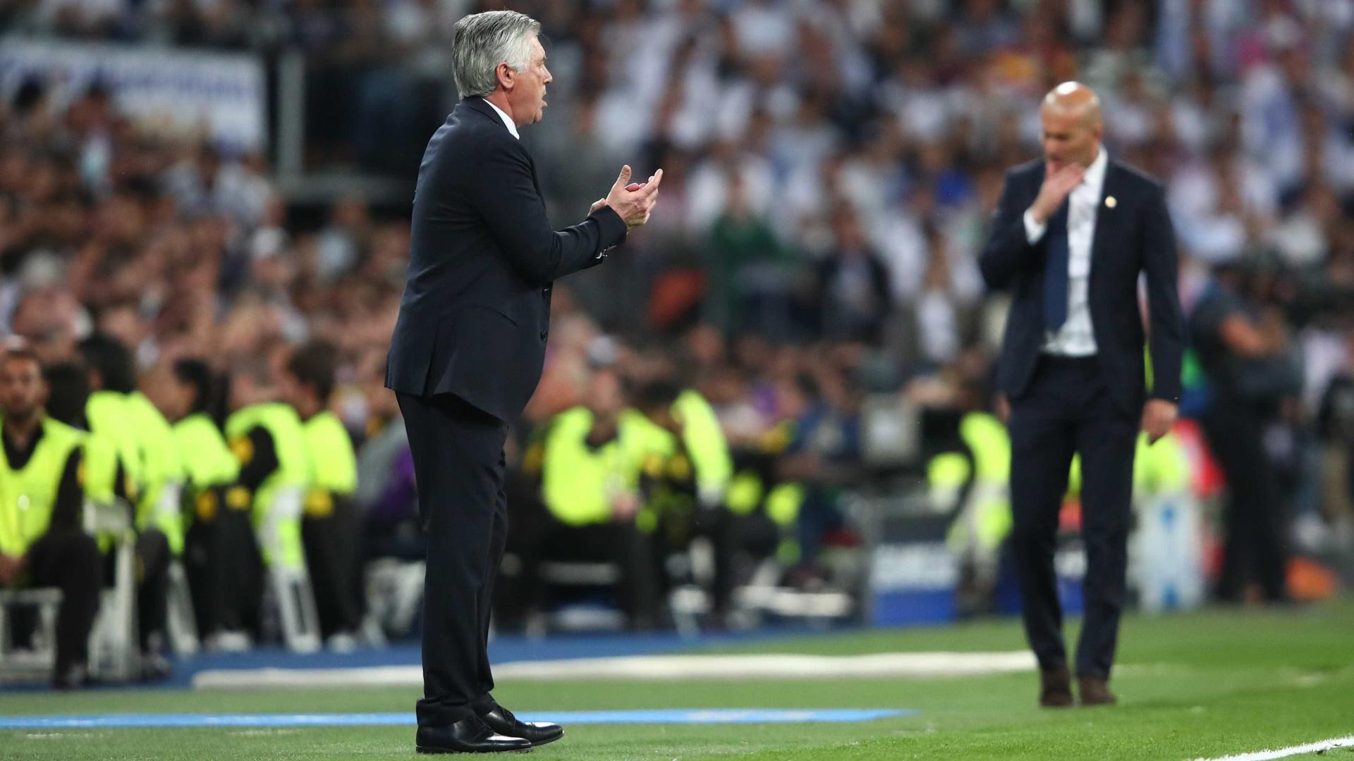 """Ancelotti pede vídeo-árbitro: """"Todos viram o que aconteceu em Madrid"""""""