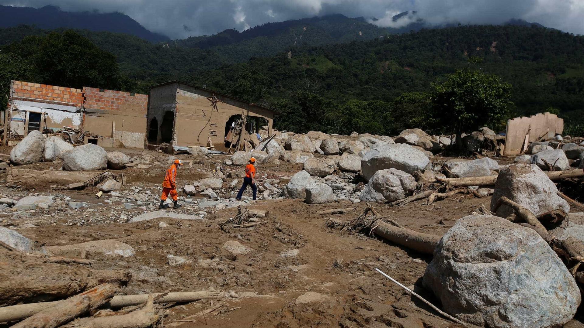 Pelo menos 17 mortos em novos aluimentos de terras na Colômbia