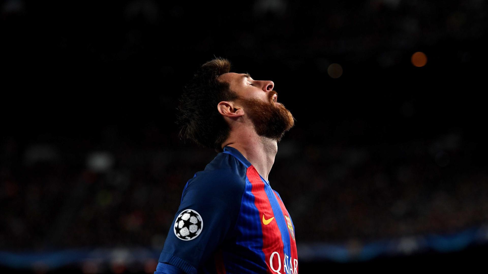 Messi desmente fatura de quase 38 mil euros que circula nas redes sociais