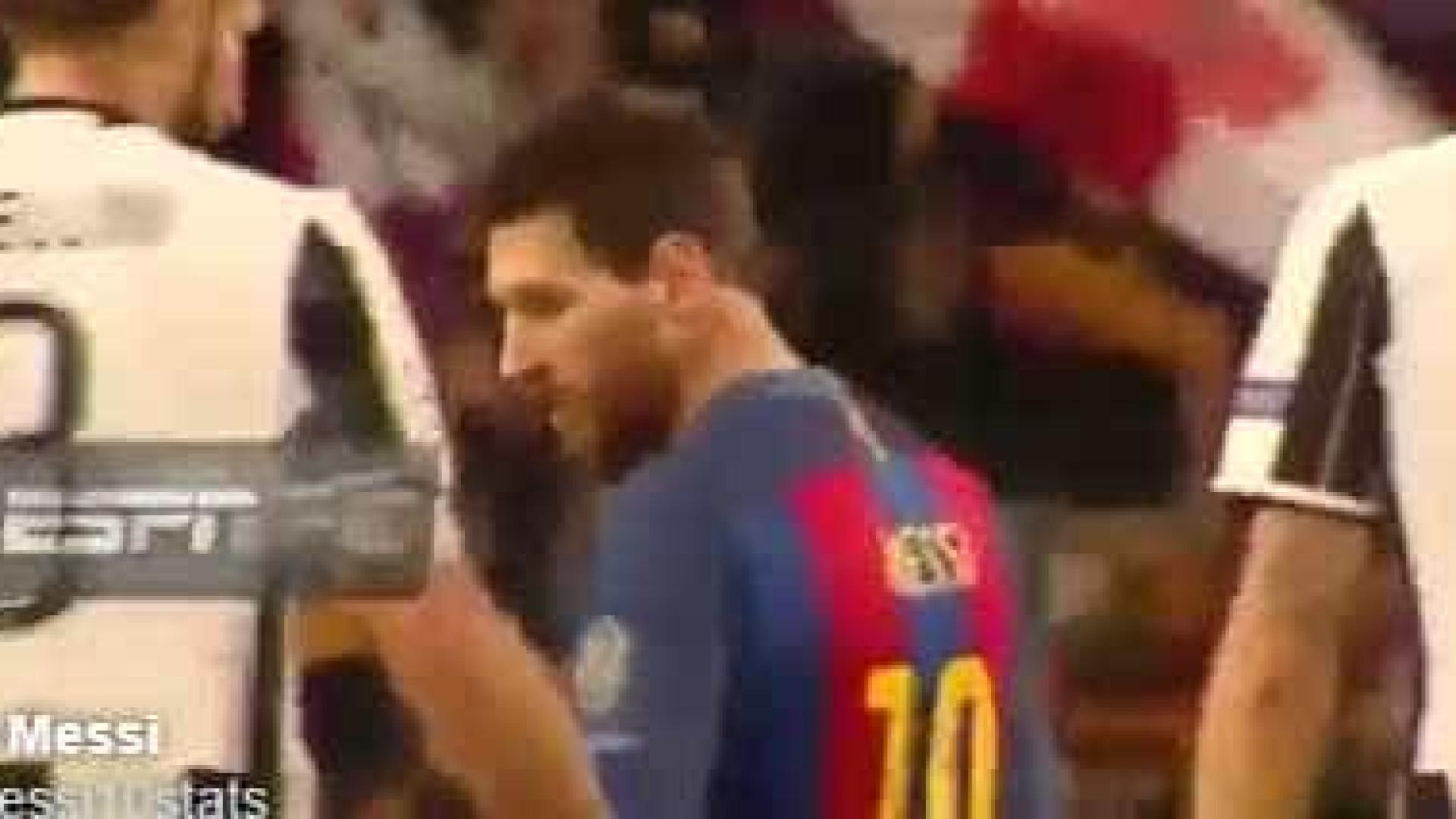 Bonucci pediu a camisola a Messi... e Chellini não gostou