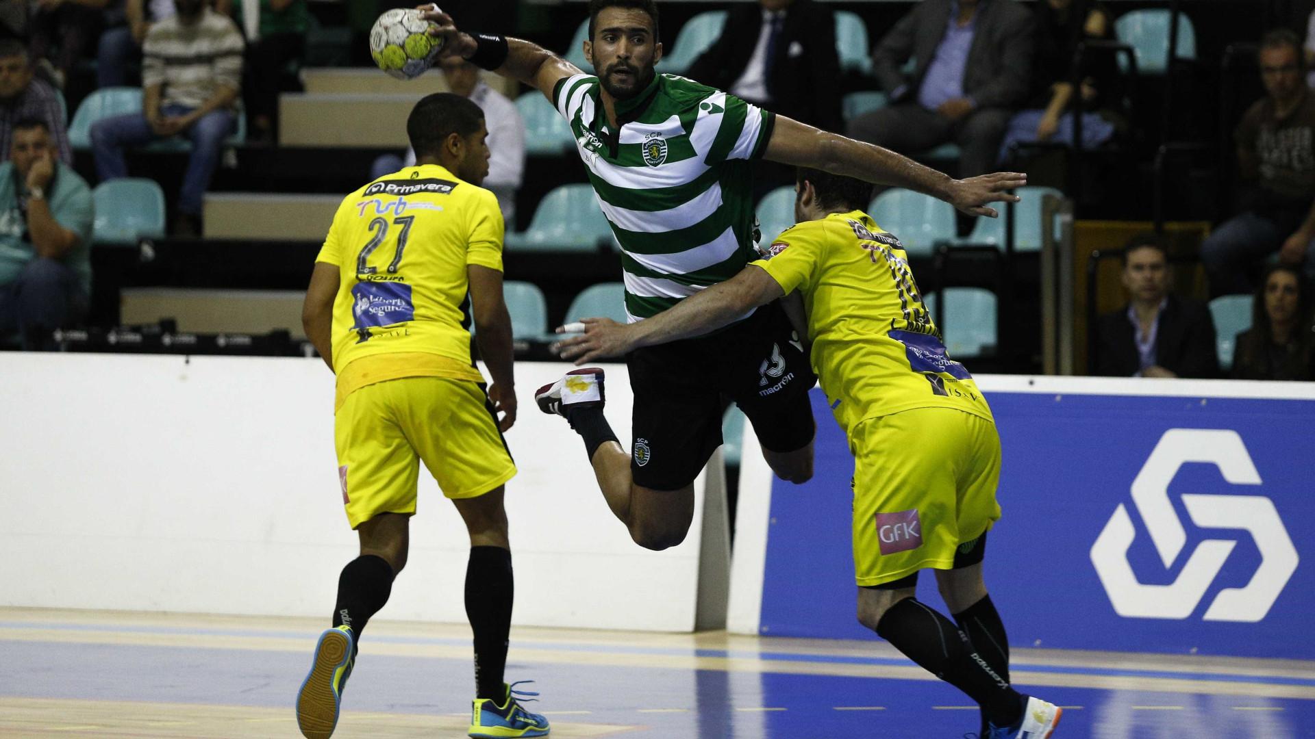 Sporting derrota campeão ABC e aproxima-se do FC Porto na liderança