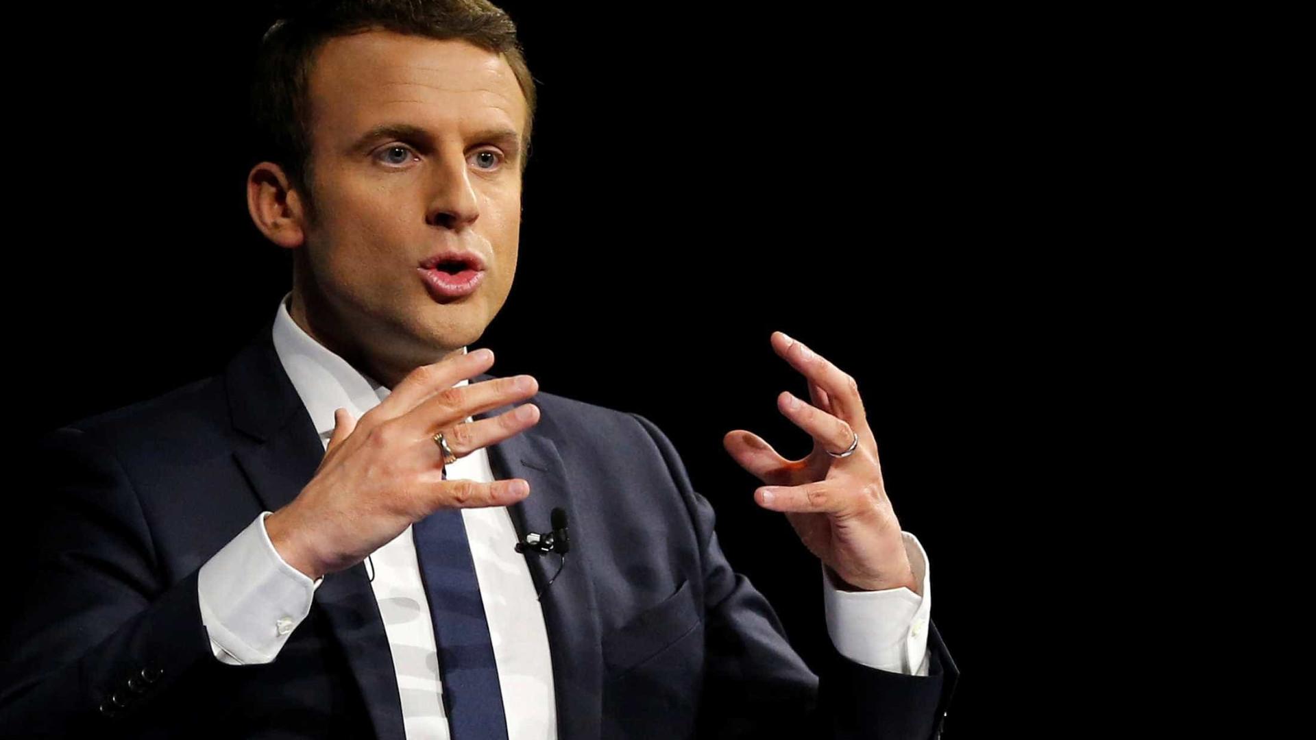 Macron quer ajuda da Alemanha para erradicar extremismo no ocidente