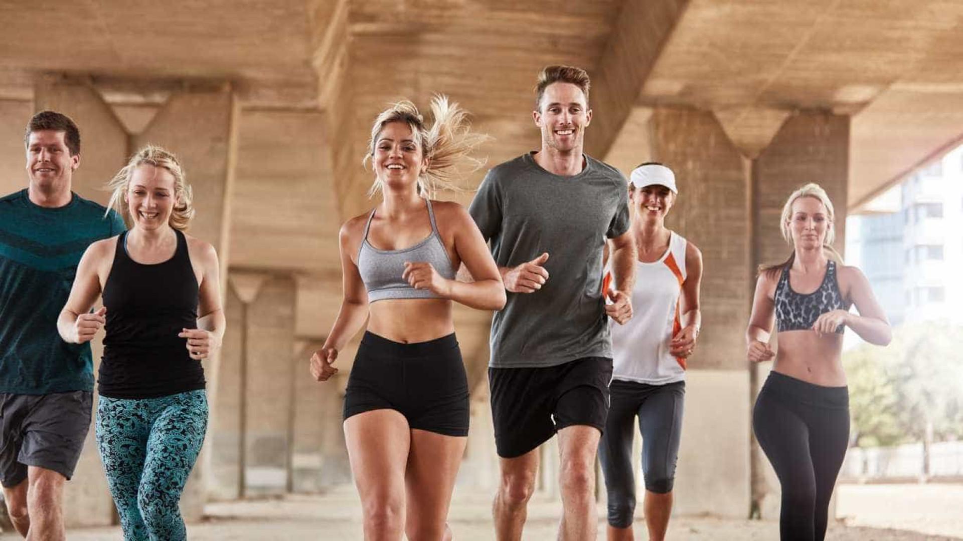 Running pode ser contagioso... e isso é bom