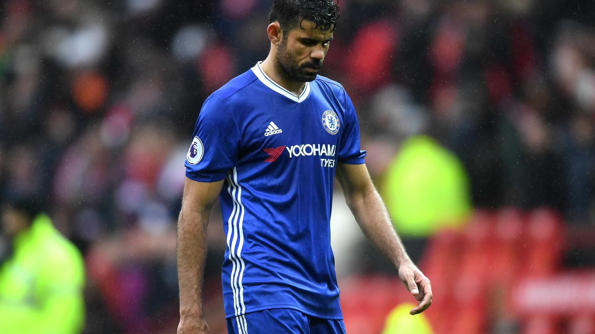 Diego Costa já veste à Atlético. Será um sinal?