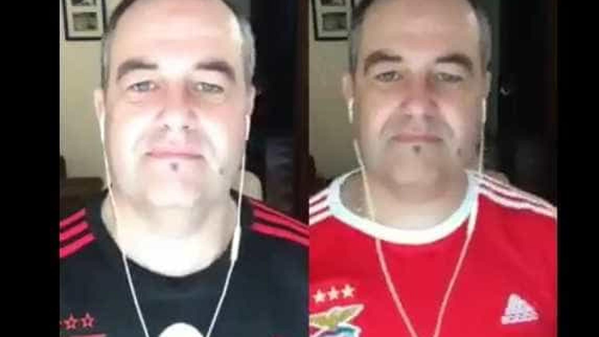 'Despacito' à Benfica. Um adepto que o vai pôr bem disposto