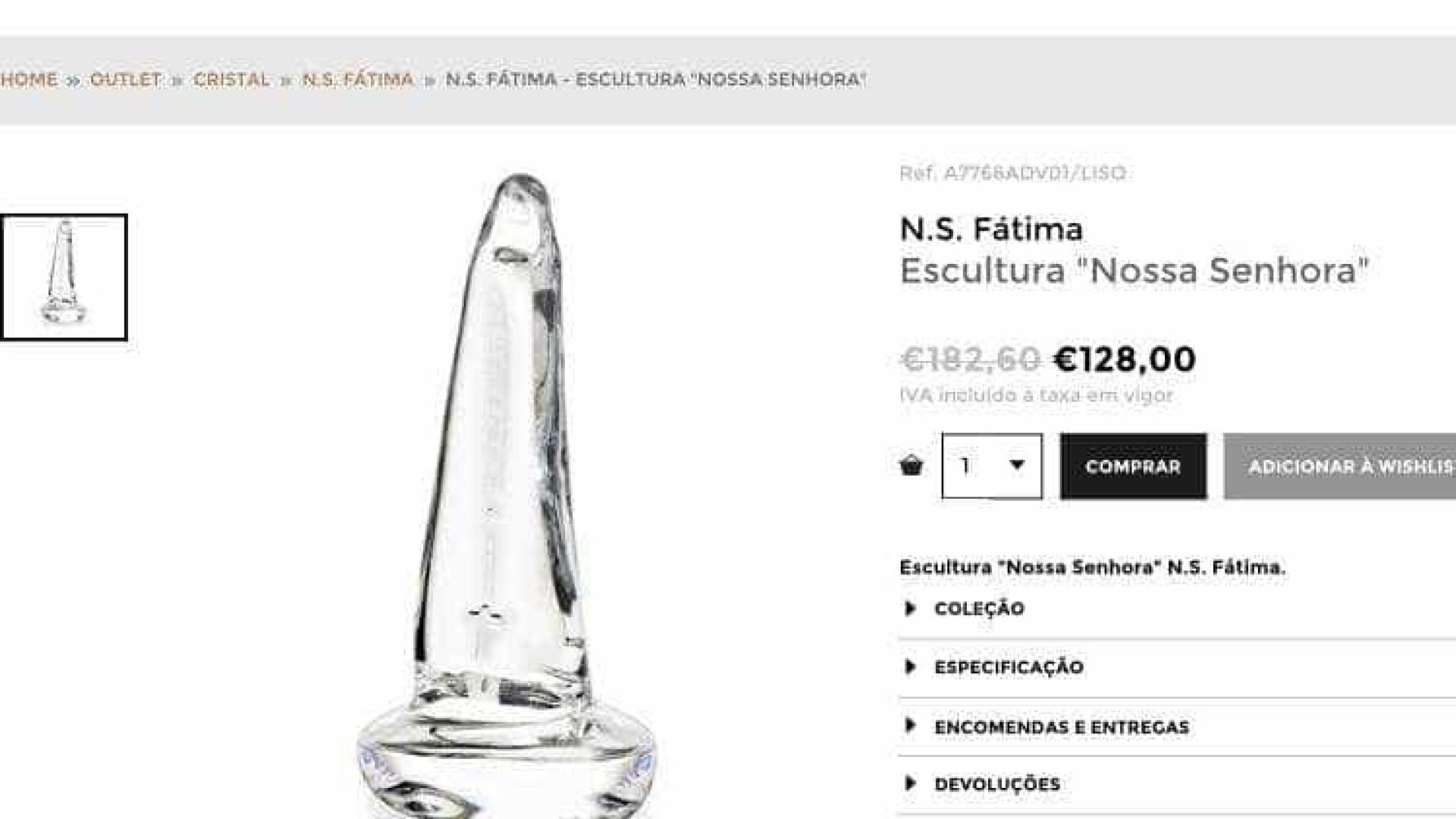 Escultura peculiar de Nossa Senhora de Fátima faz furor nas redes sociais