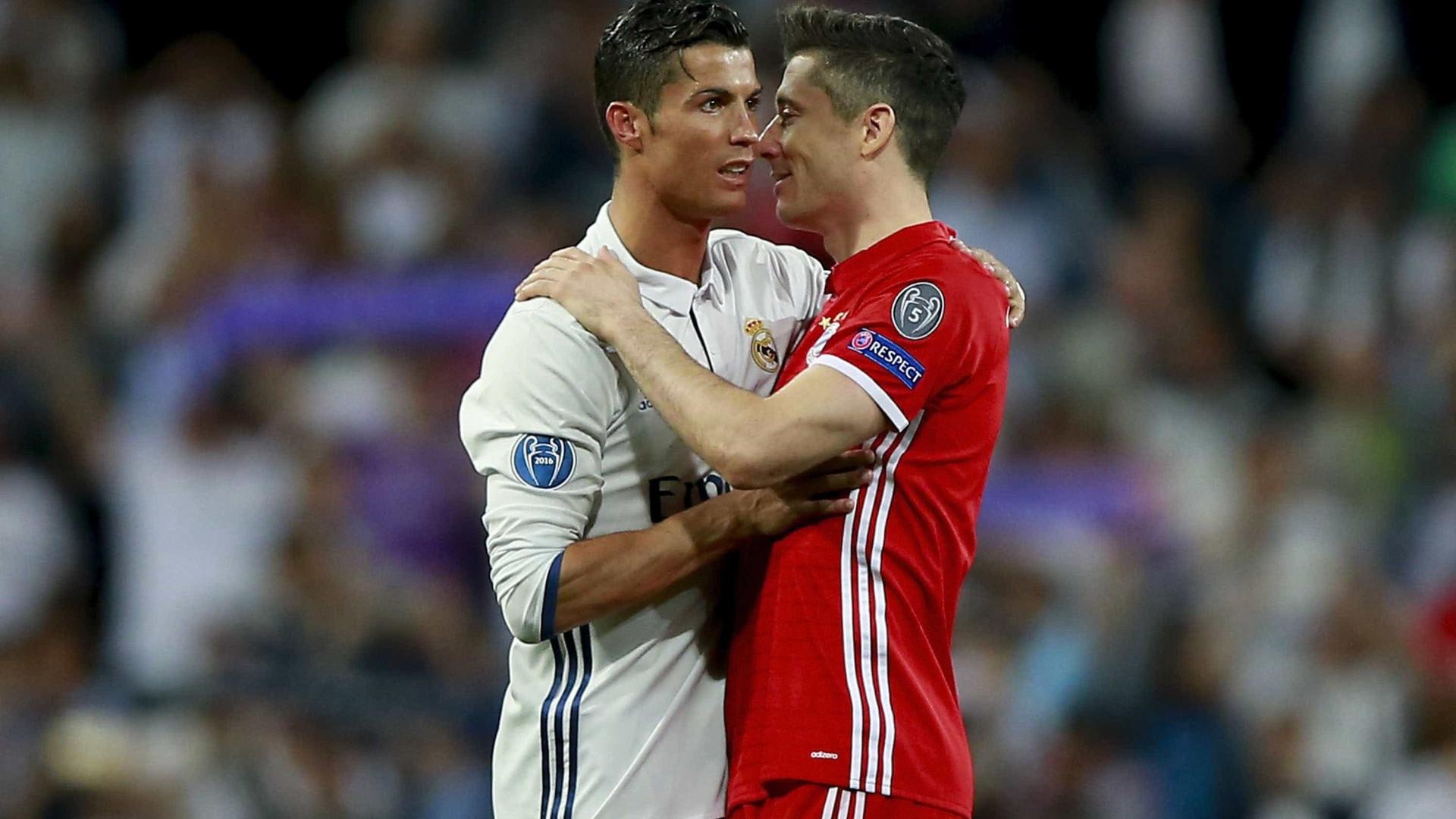 Ramos e Ronaldo disseram a Lewandowski que há lugar para ele no Real