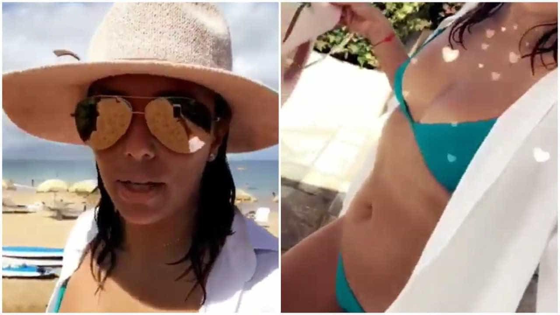 """""""Não estou grávida, apenas inchada!"""", Eva Longoria nega rumores"""