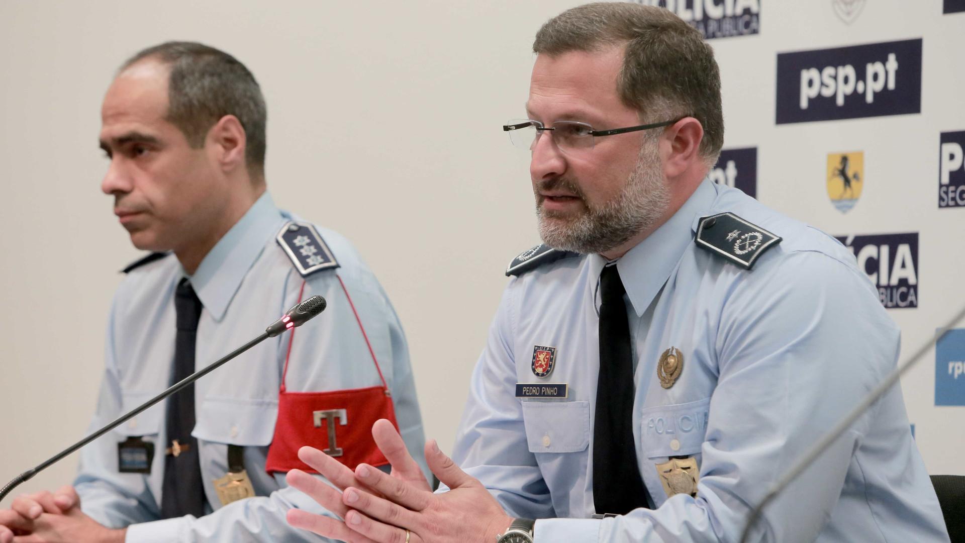 """Dérbi. PSP """"atenta"""" a atentados em dia de jogo de """"risco elevado"""""""