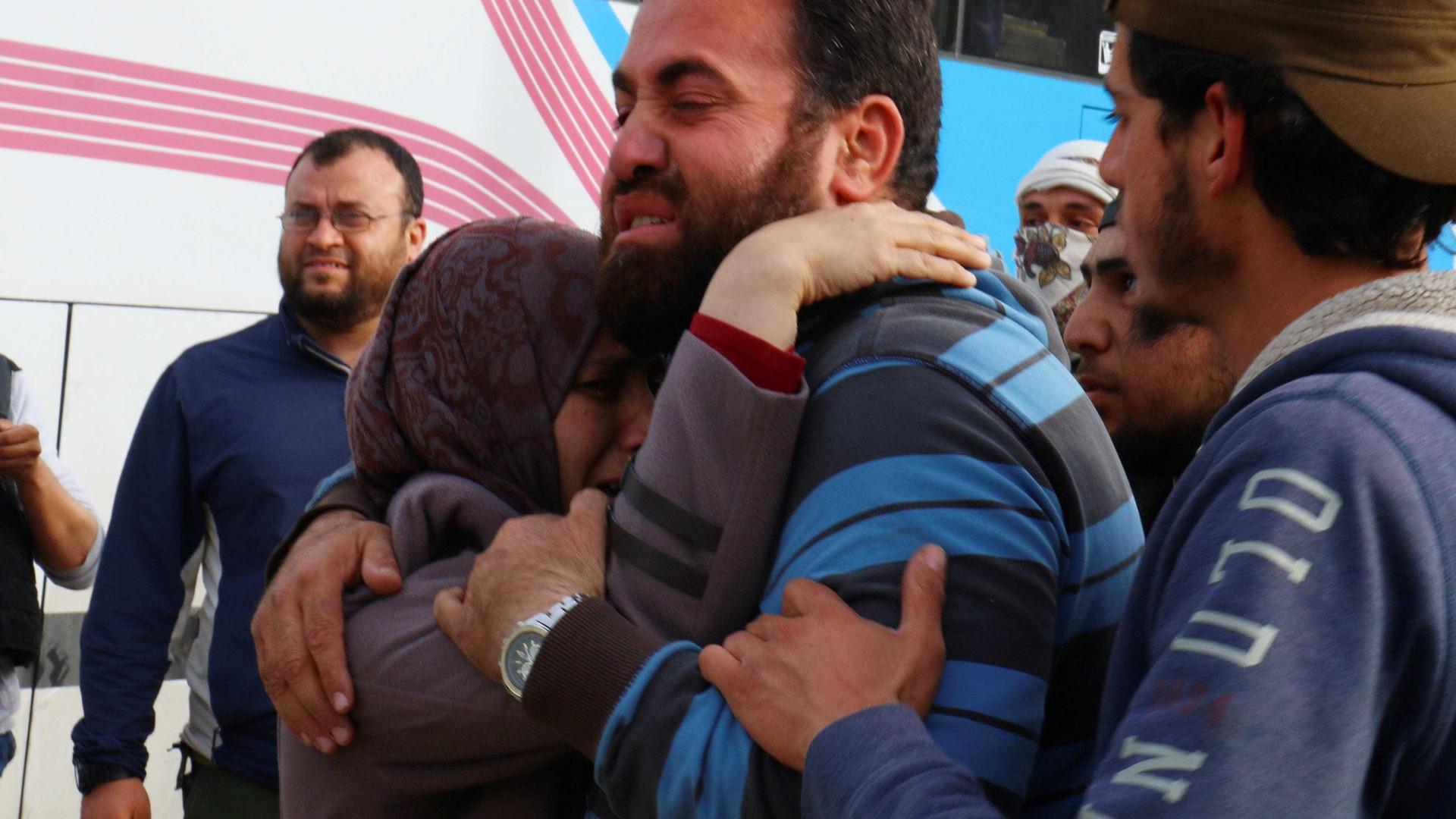Primeira fase da mais vasta operação de evacuação na Síria chega ao fim