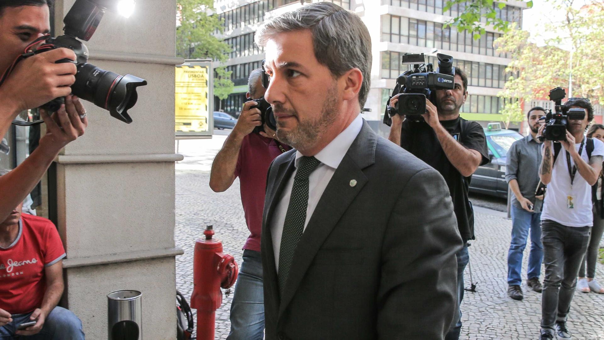 AG colocou processo disciplinar a Bruno de Carvalho antes de se demitir
